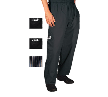 Chef Revival P024BK-3X chef's pants
