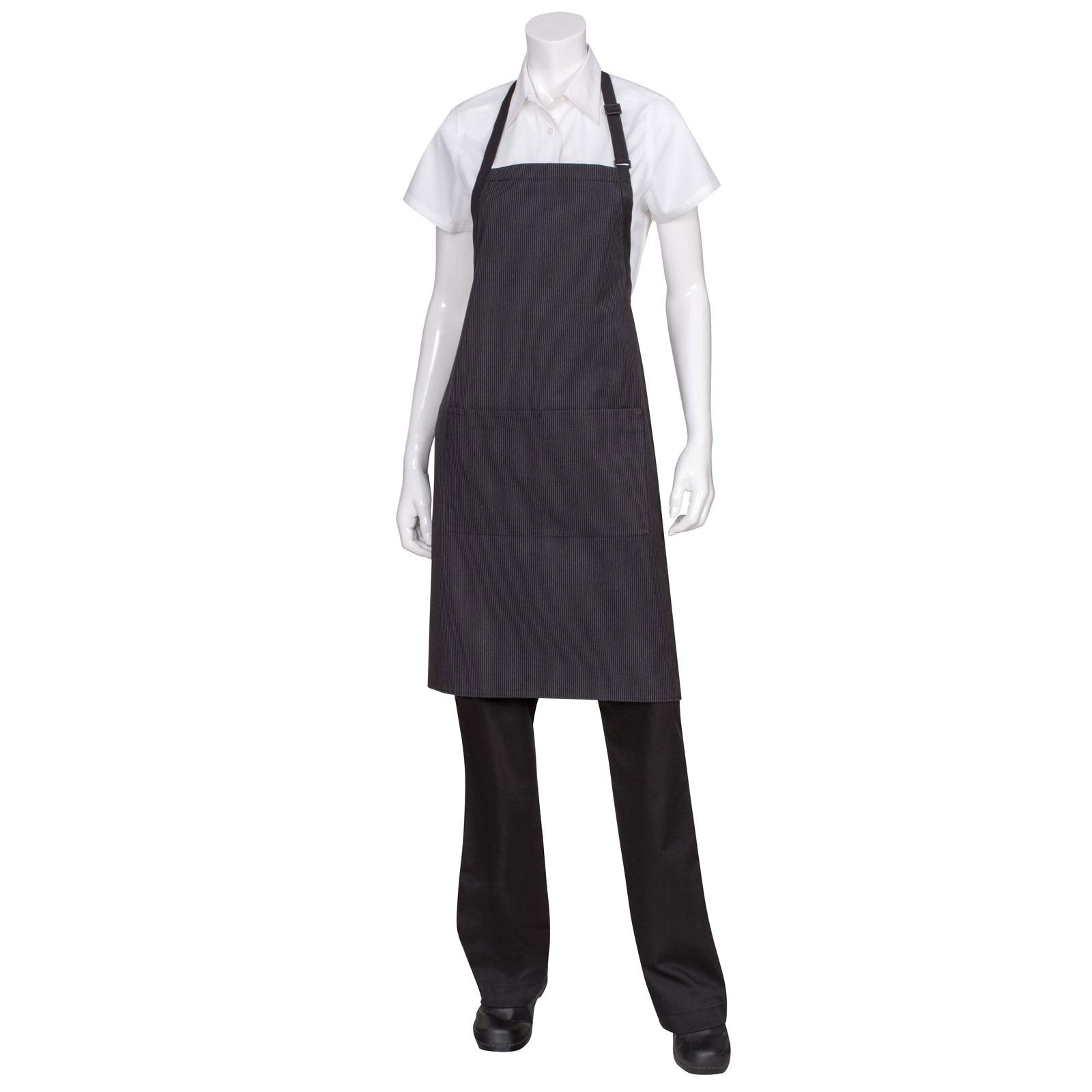 Chef Works AB012PNS0 bib apron