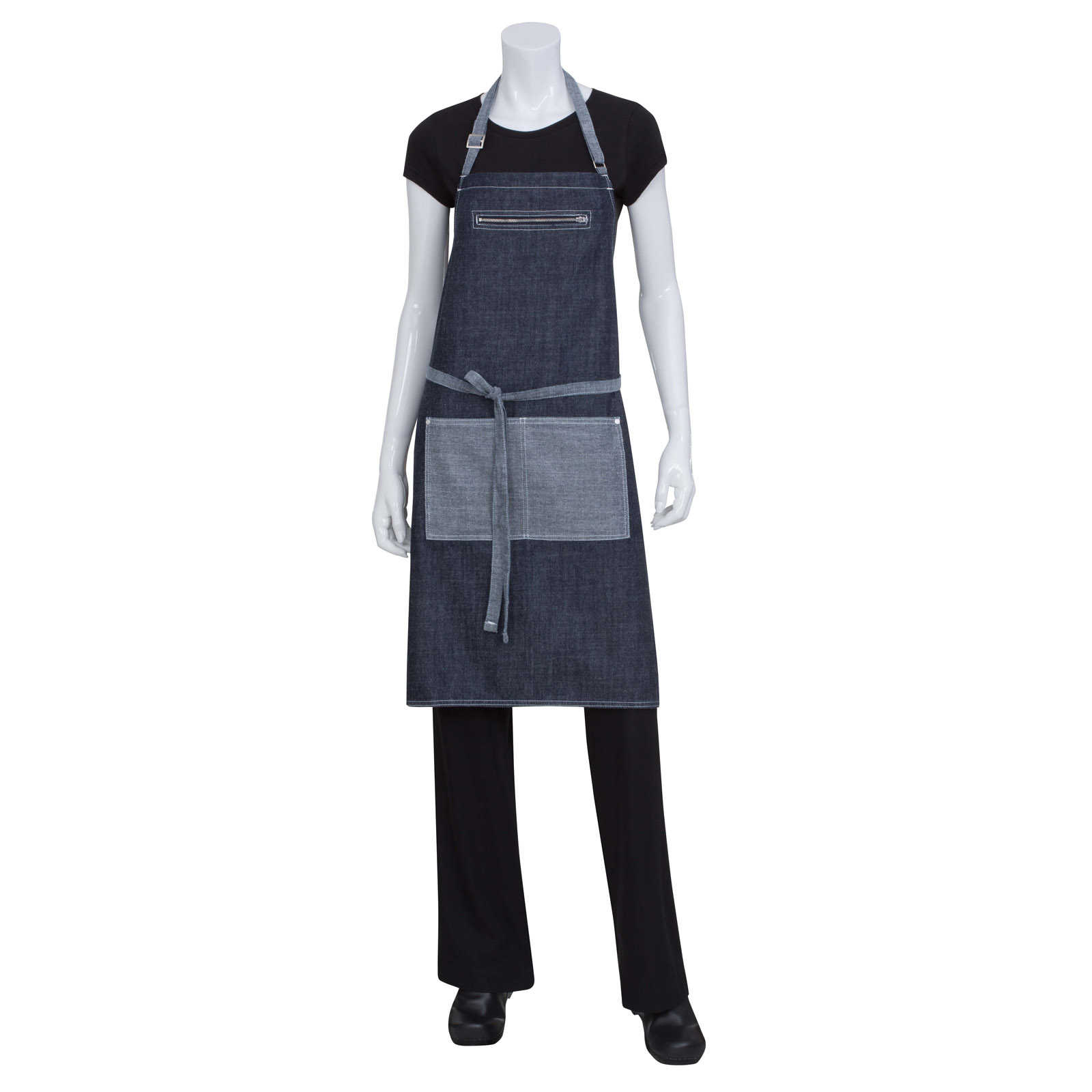 Chef Works AB034IBL0 bib apron