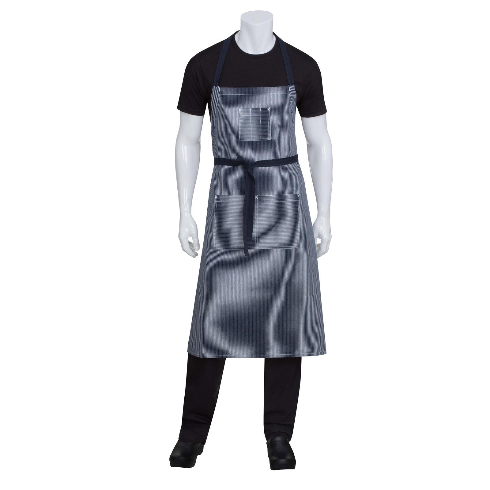 Chef Works AB038IBL0 bib apron