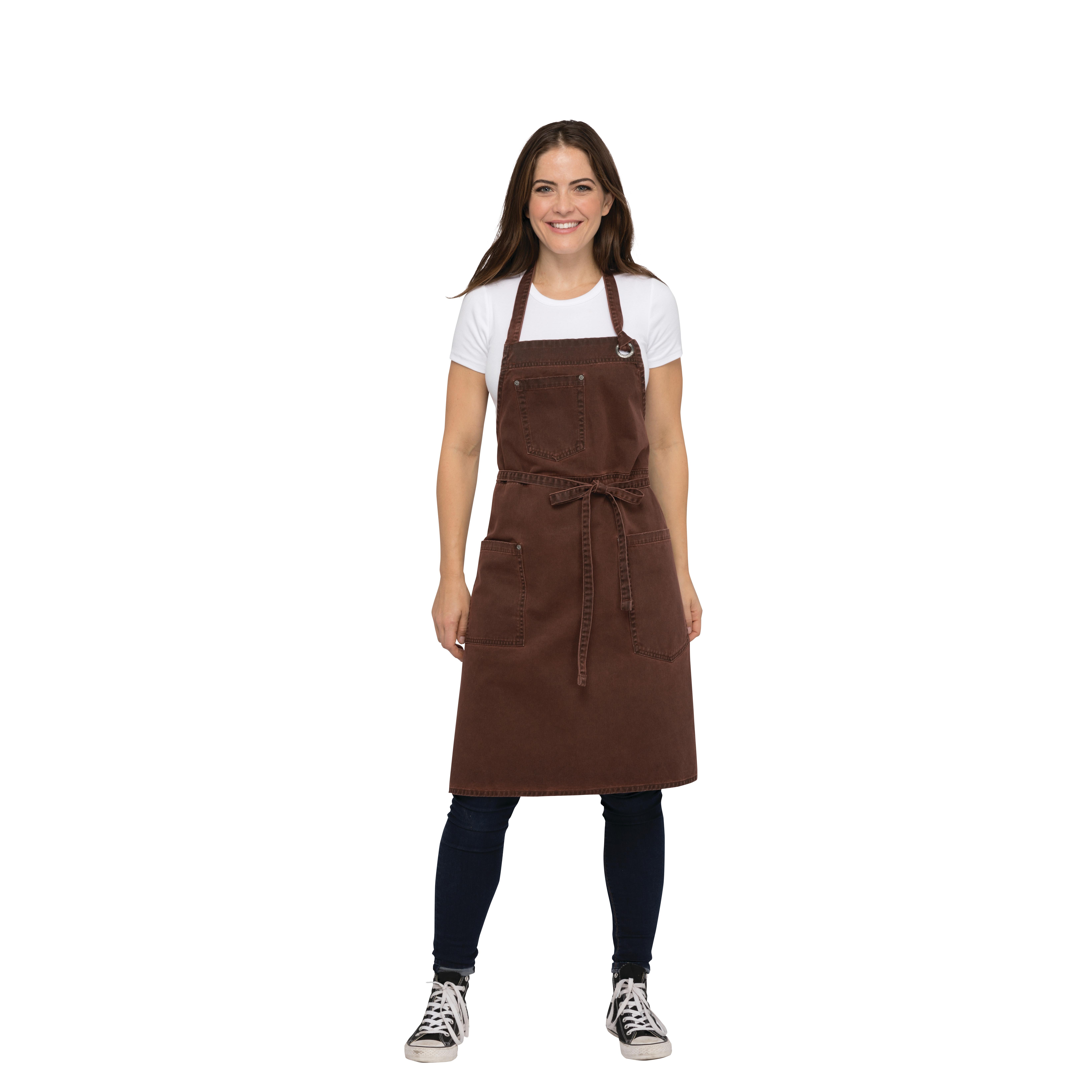 Chef Works ABAQ054RUS0 bib apron