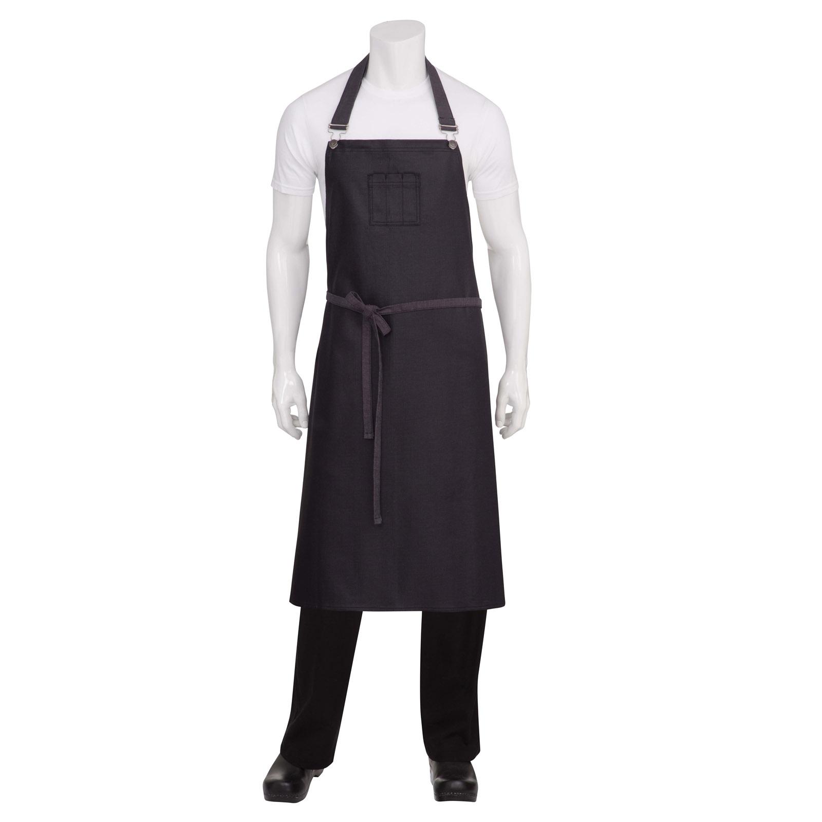 Chef Works ABCWT001PUB0 bib apron