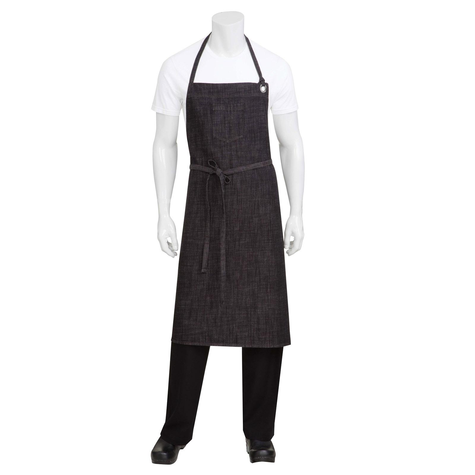 Chef Works ABCXX002BBG0 bib apron
