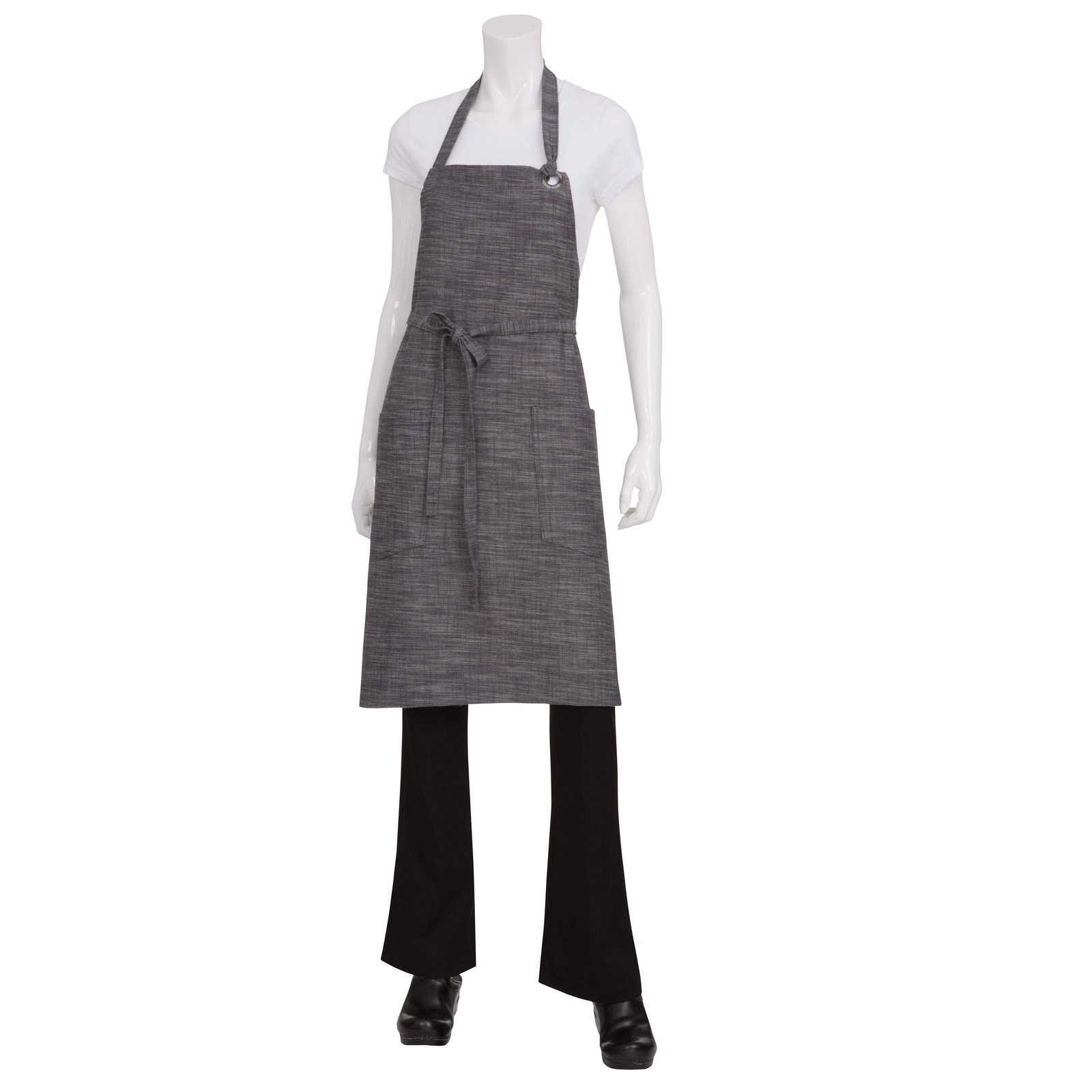 Chef Works ABXX052BSL0 bib apron