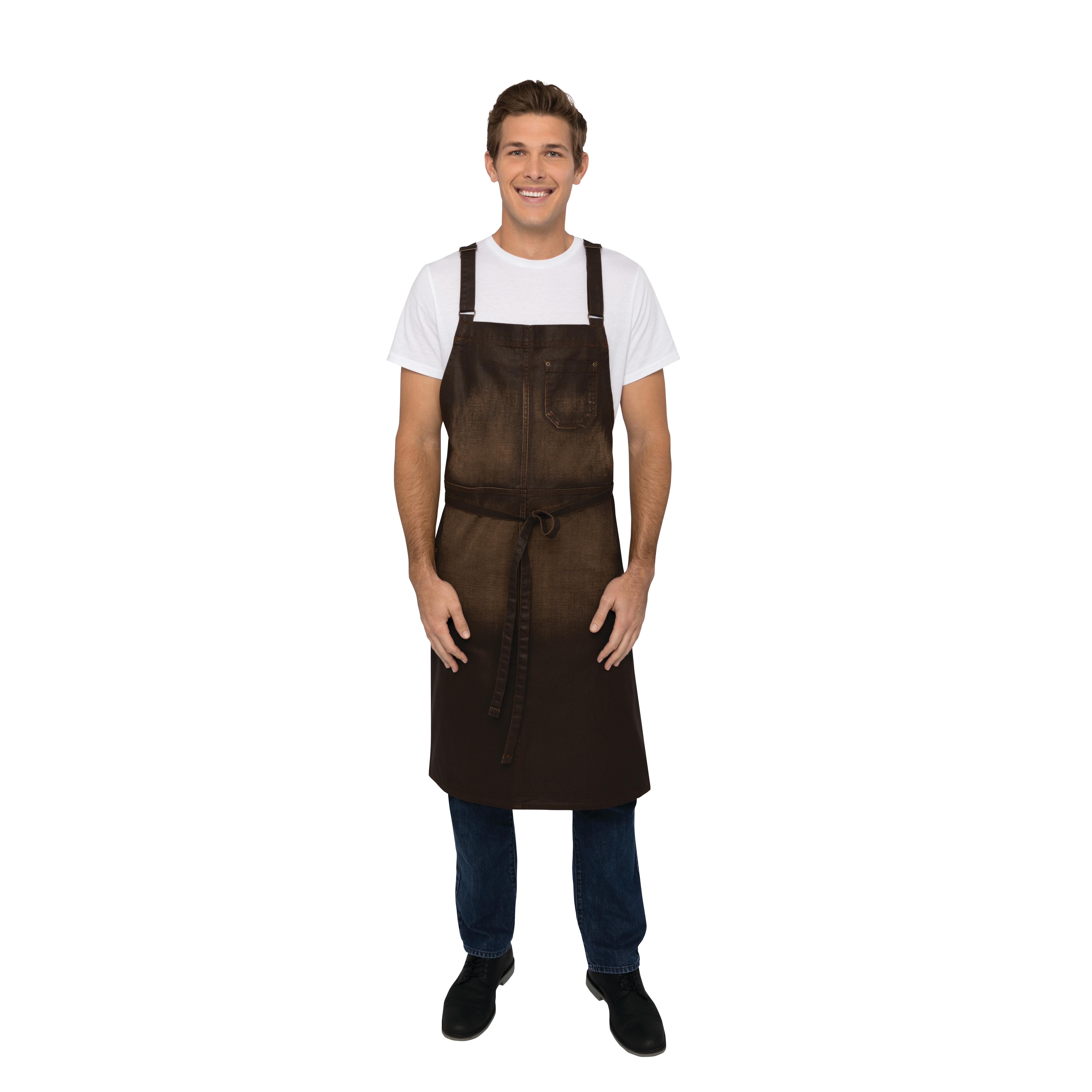 Chef Works ACX02CHO0 bib apron