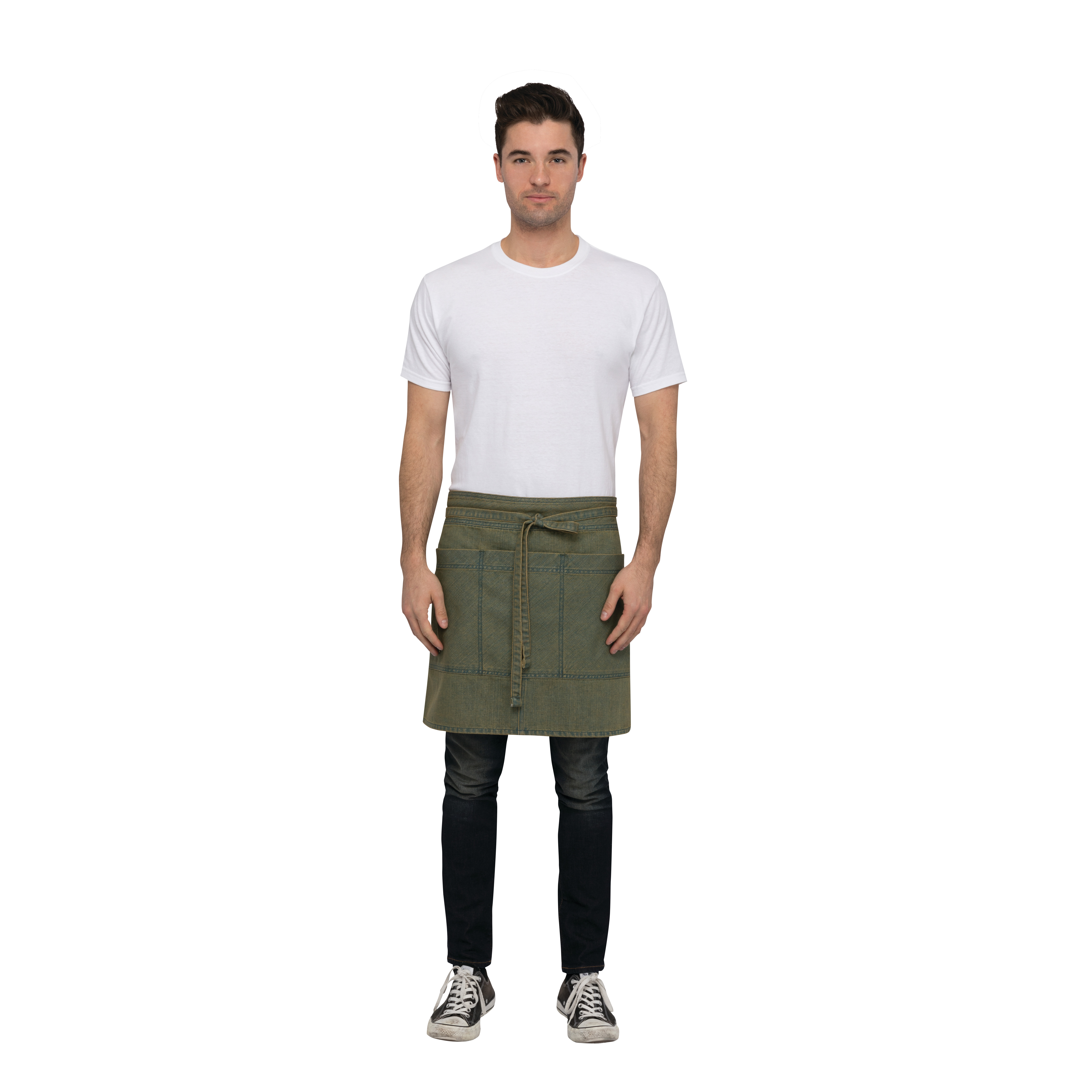 Chef Works AHN01BLY0 waist apron