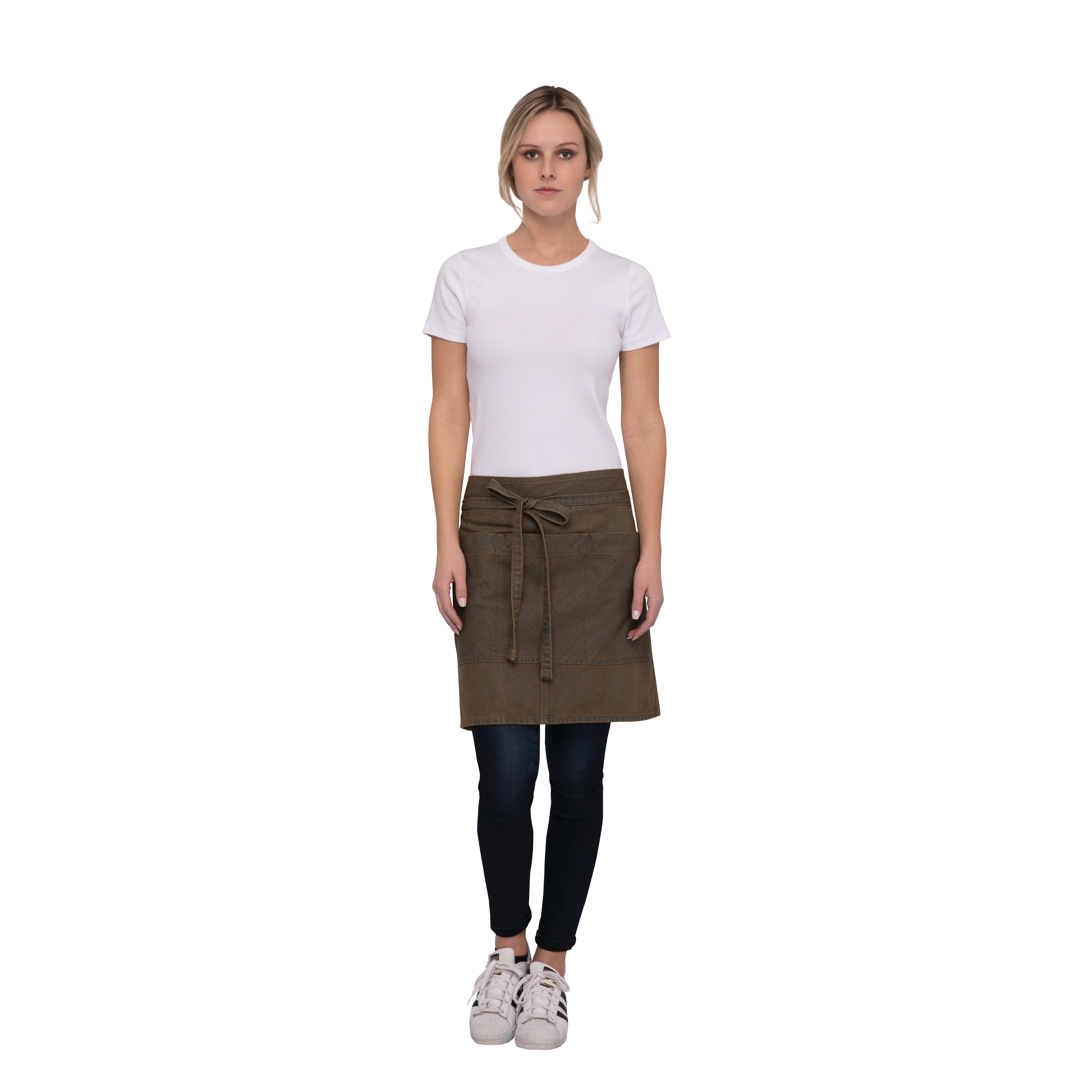 Chef Works AHN01BTP0 waist apron