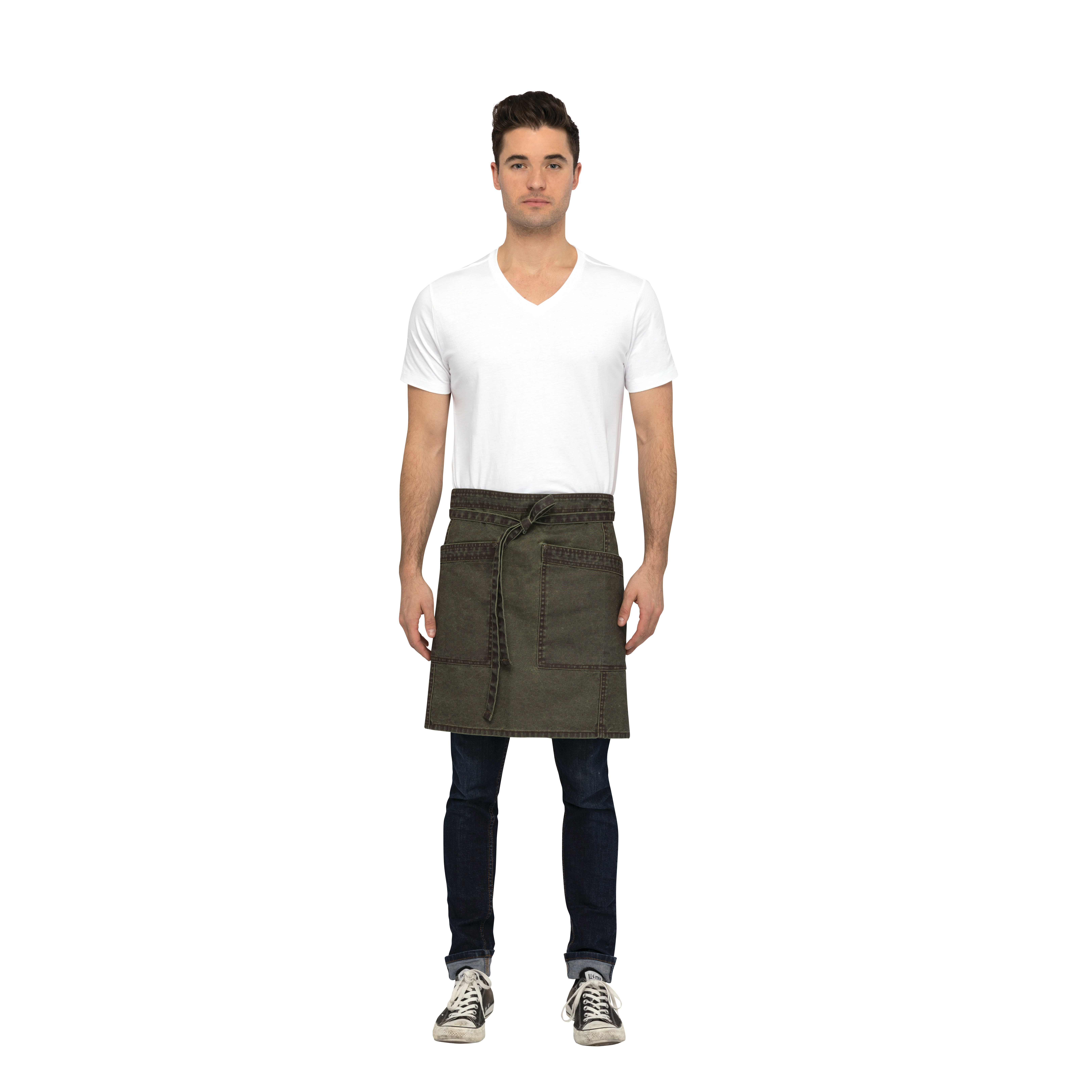 Chef Works AHN02OLW0 waist apron