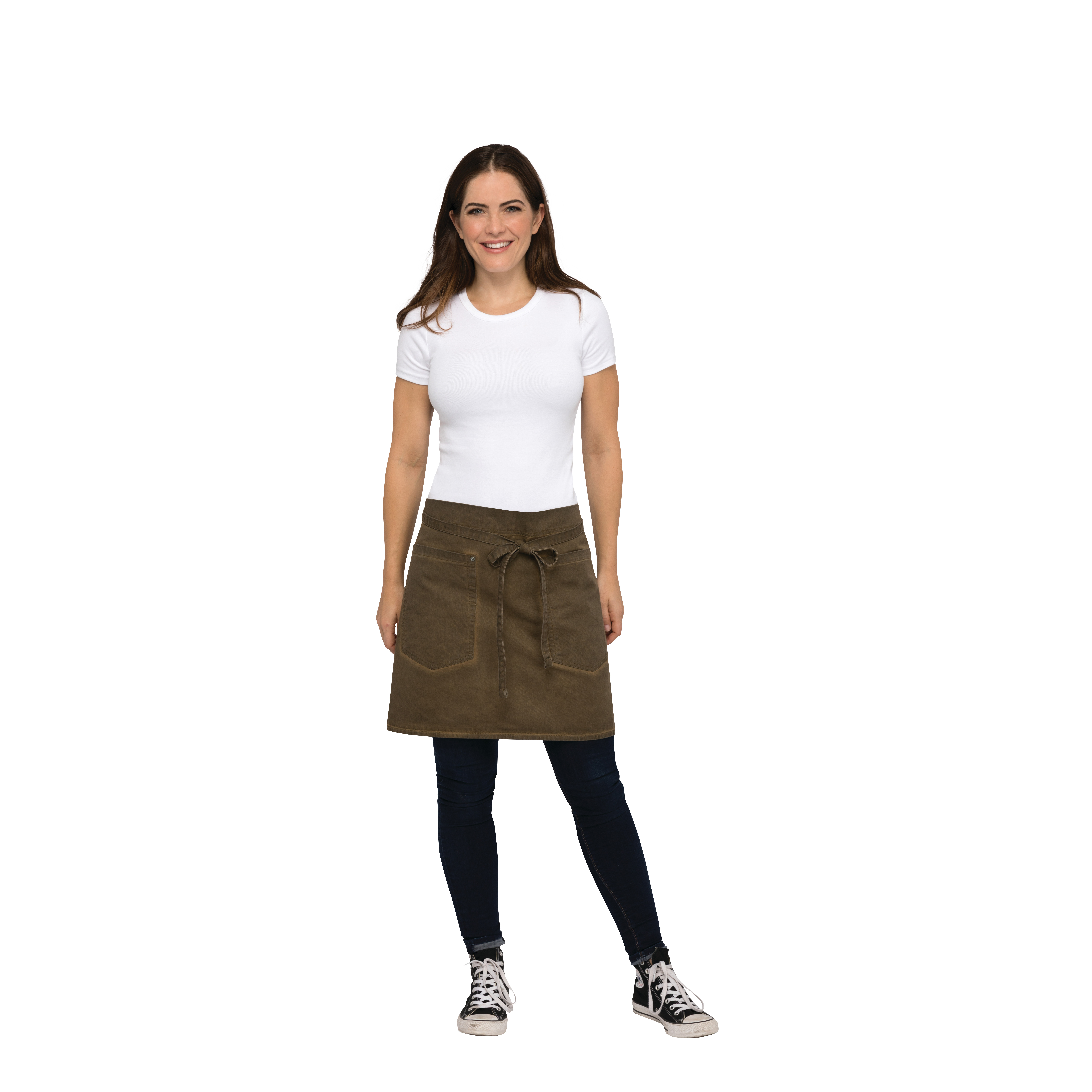 Chef Works AHWAQ014GBN0 waist apron