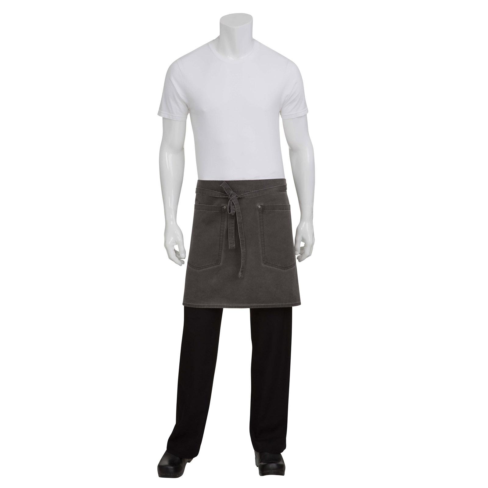 Chef Works AHWAQ014PEW0 waist apron
