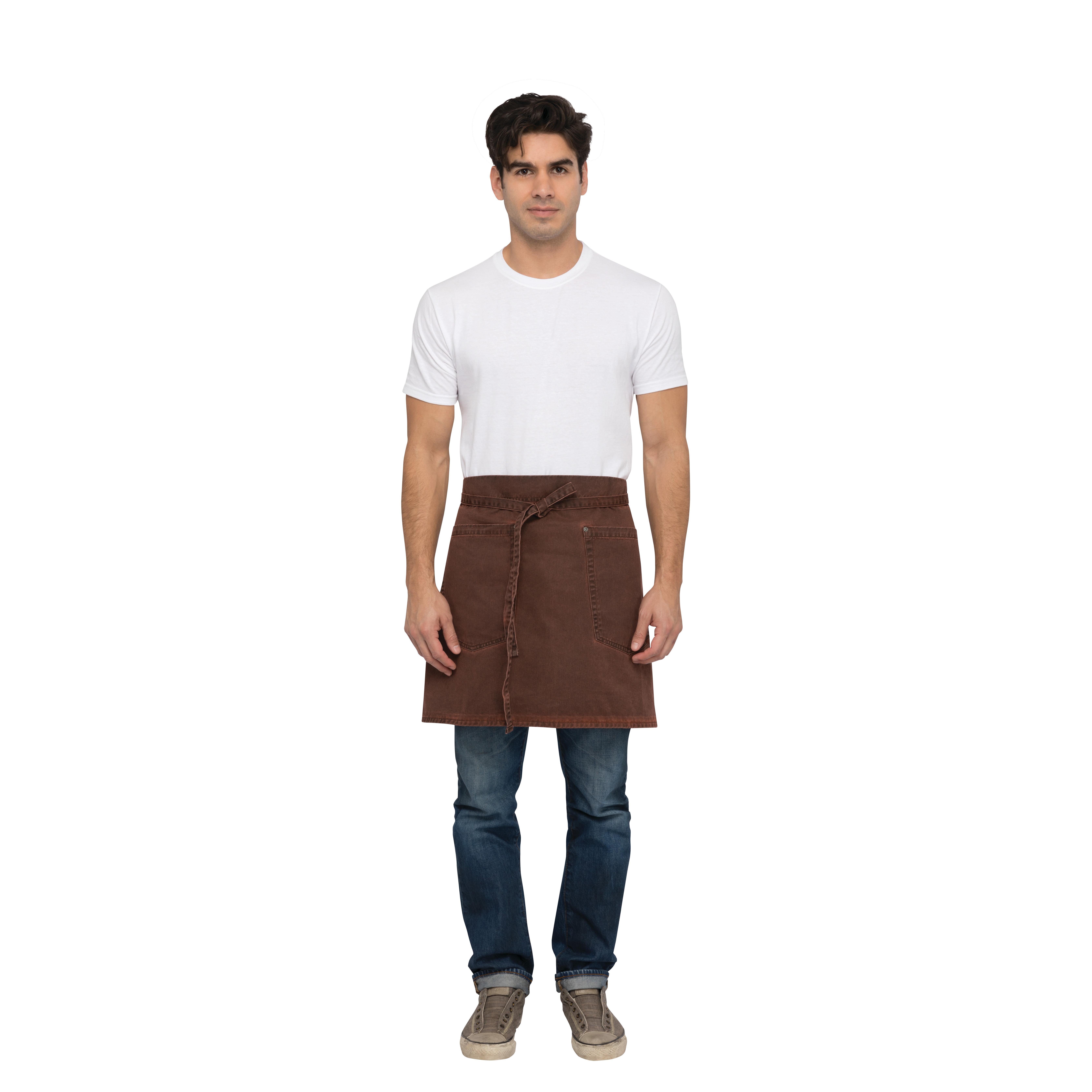 Chef Works AHWAQ014RUS0 waist apron