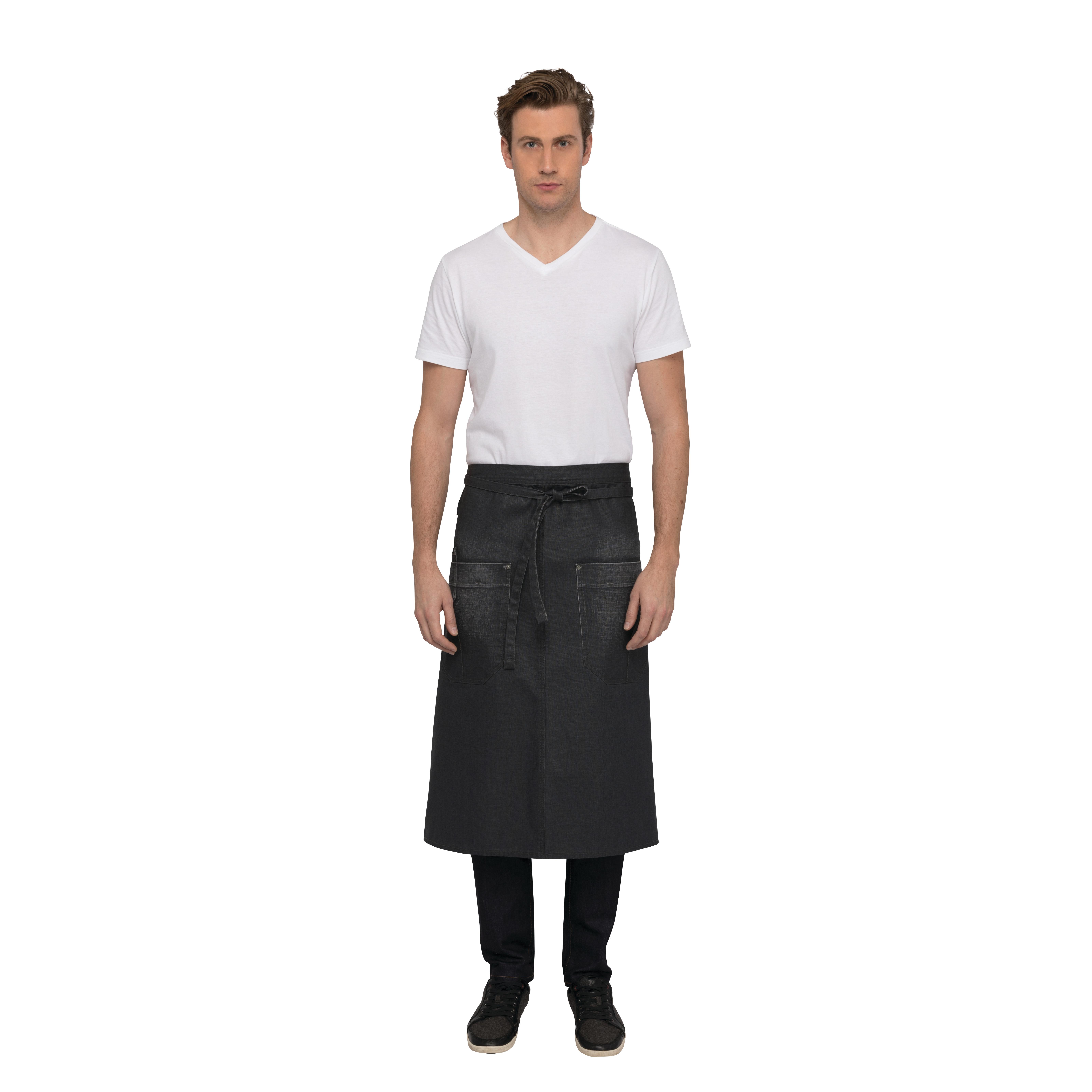 Chef Works AIN01GRY0 waist apron