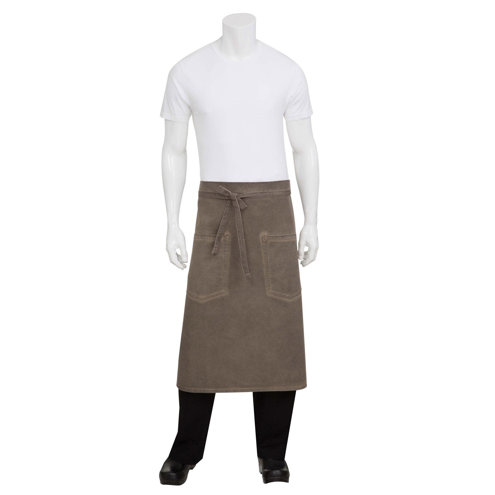 Chef Works ALWAQ024EAB0 waist apron
