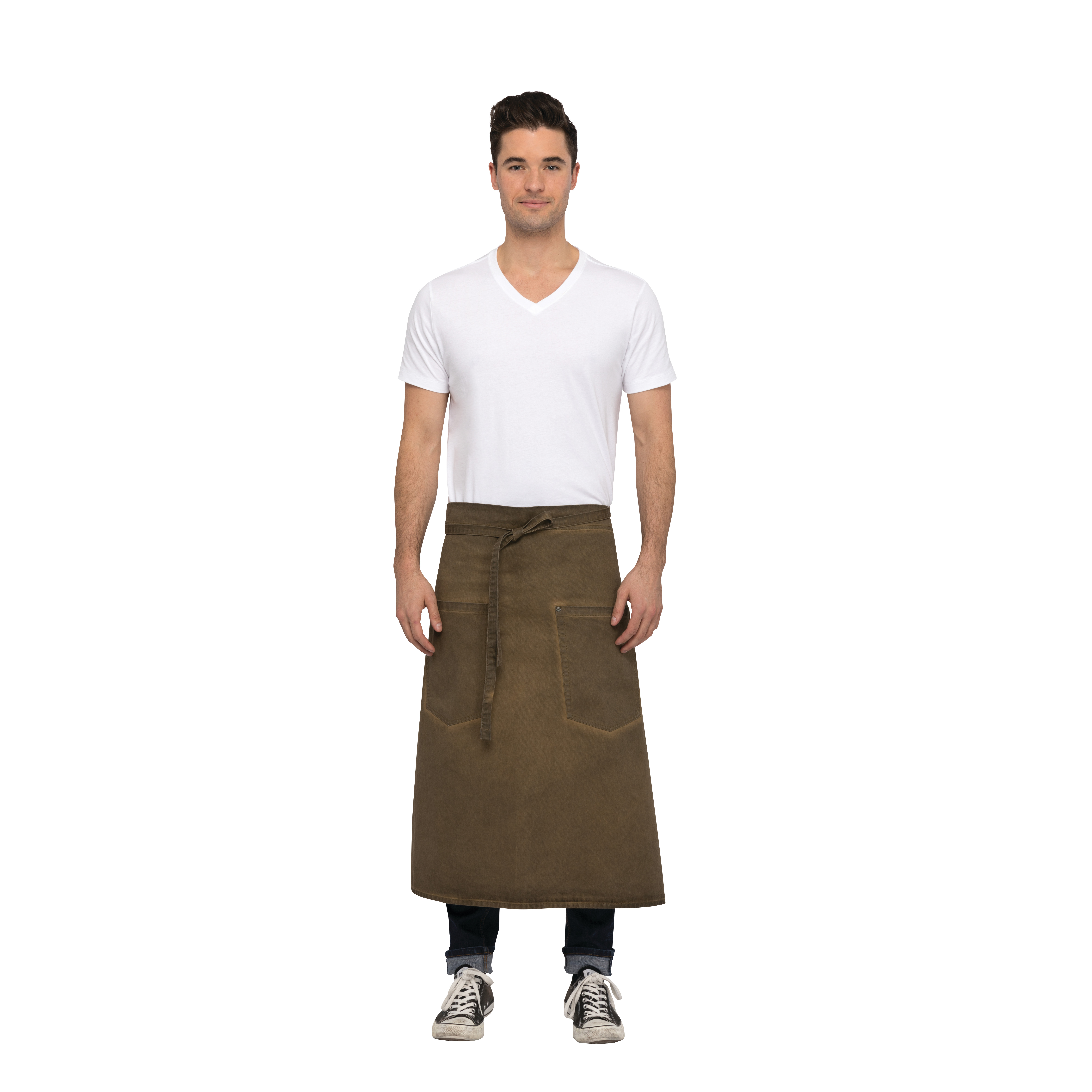 Chef Works ALWAQ024GBN0 waist apron