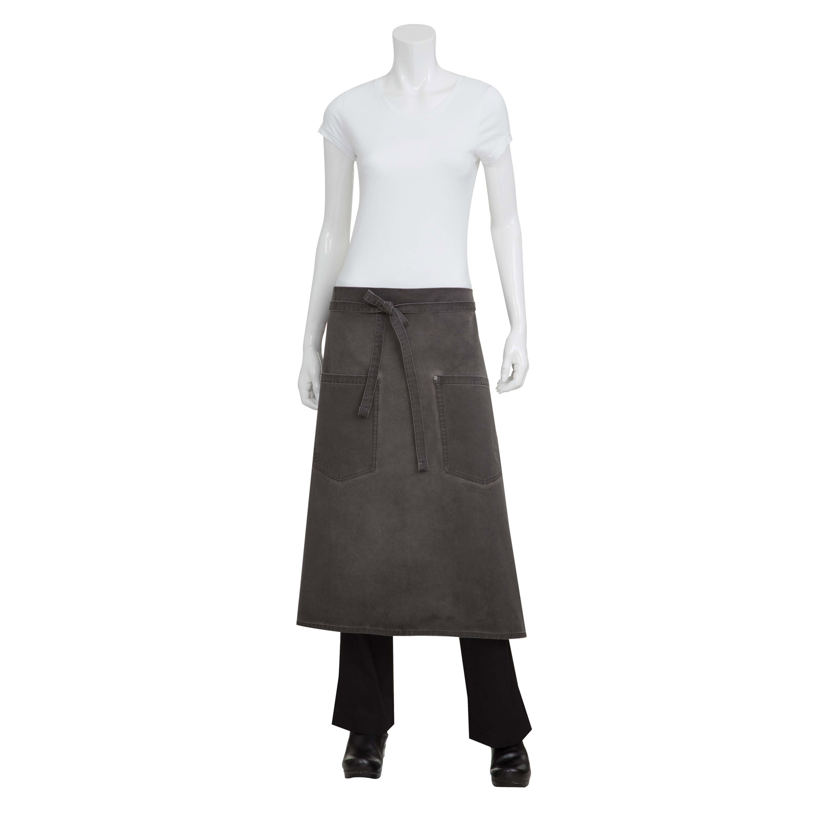 Chef Works ALWAQ024PEW0 waist apron