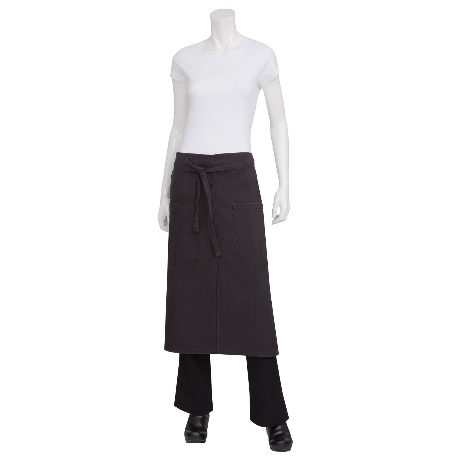 Chef Works ALWKV023SGY0 waist apron