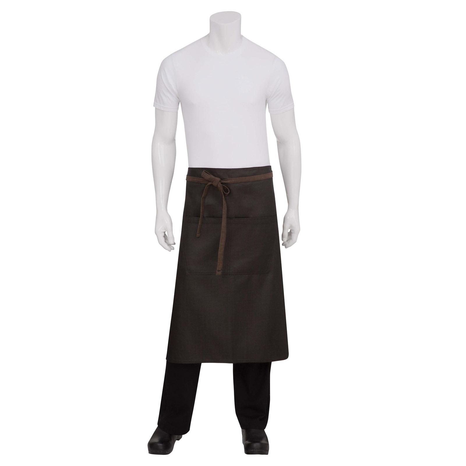 Chef Works ALWWT021BNB0 waist apron