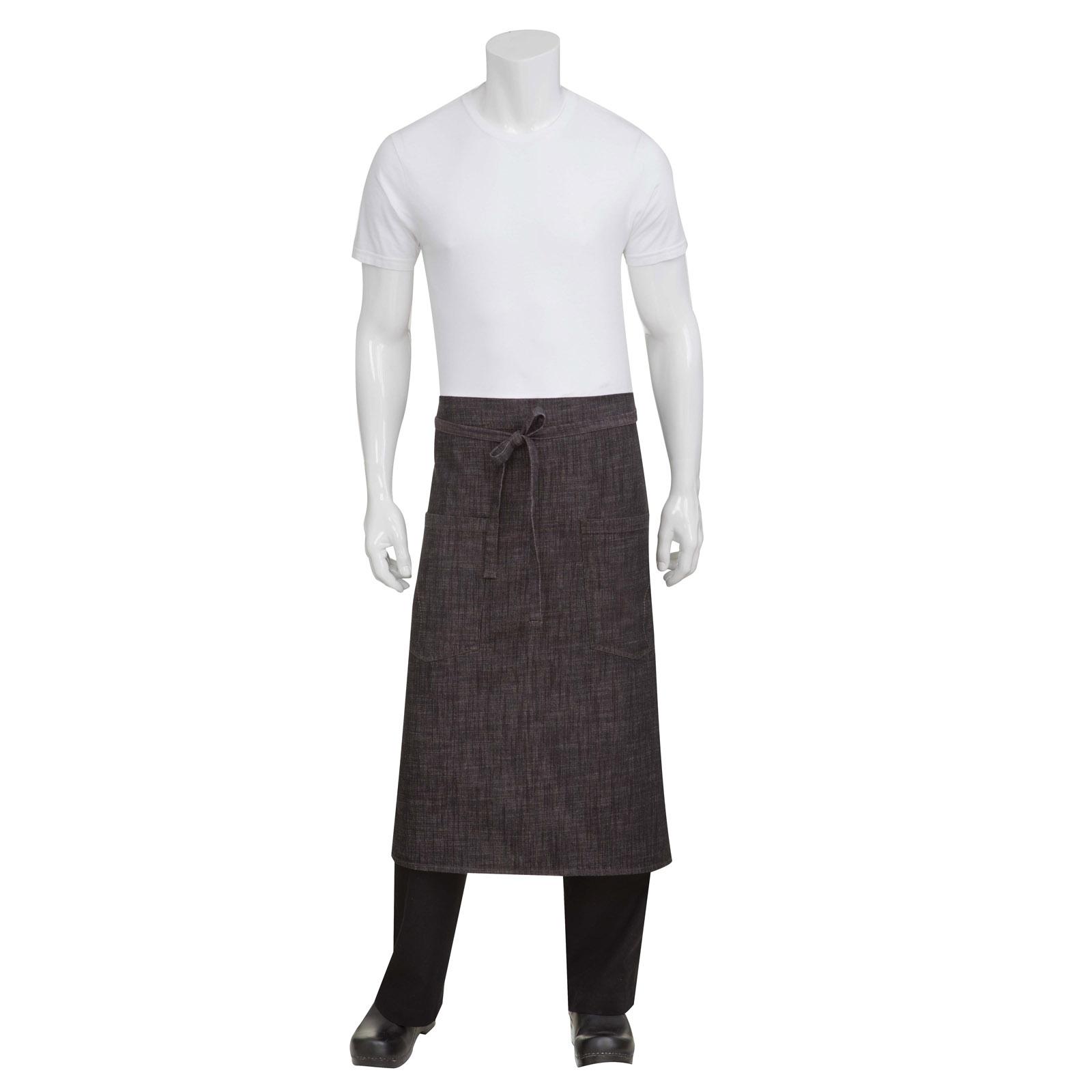Chef Works ALWXX022BBG0 waist apron