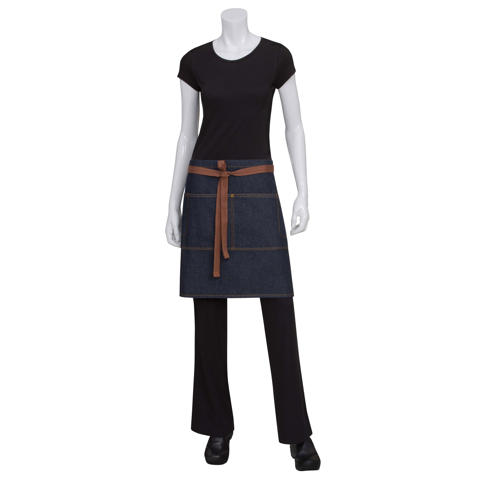 Chef Works AW048IBL0 waist apron