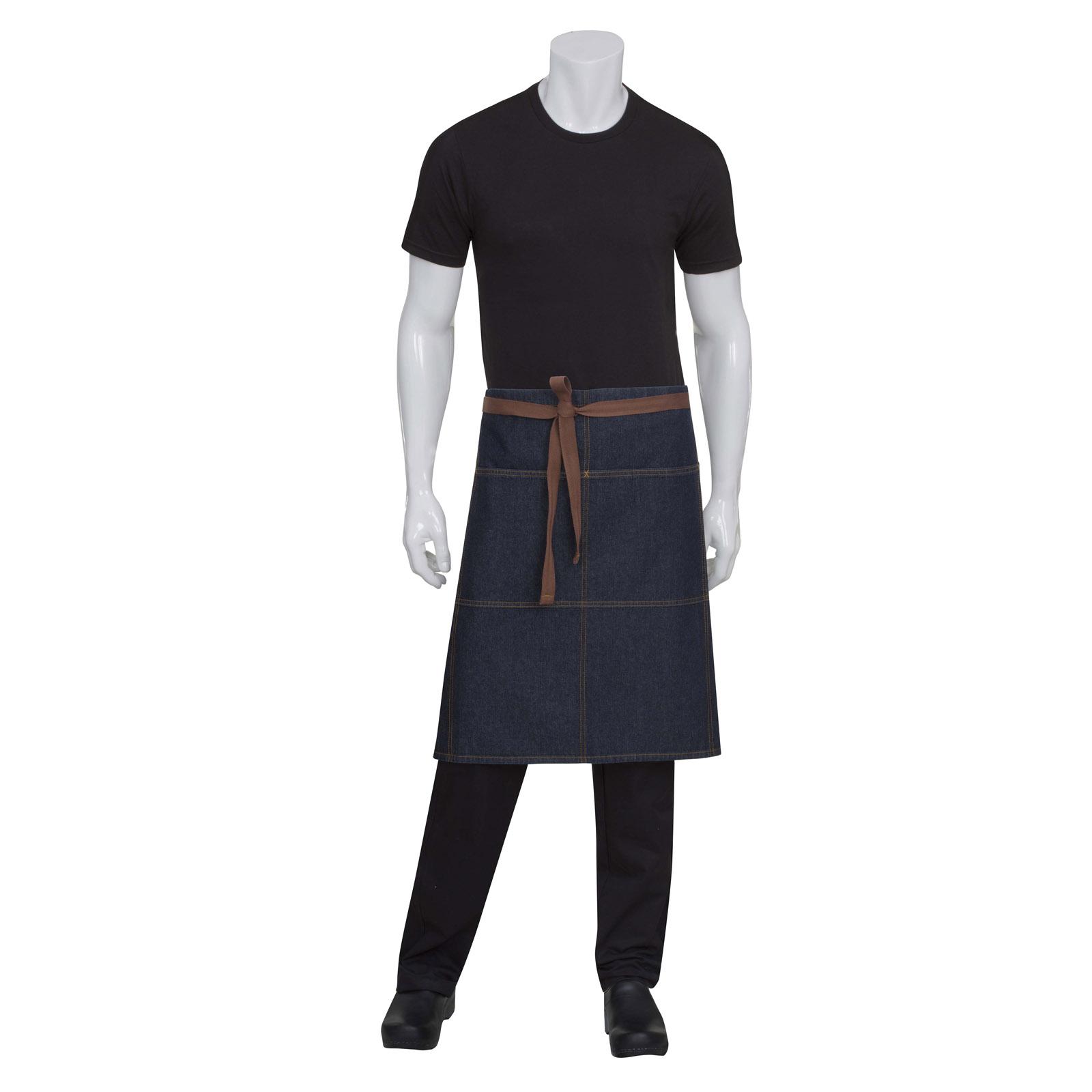 Chef Works AW049IBL0 waist apron