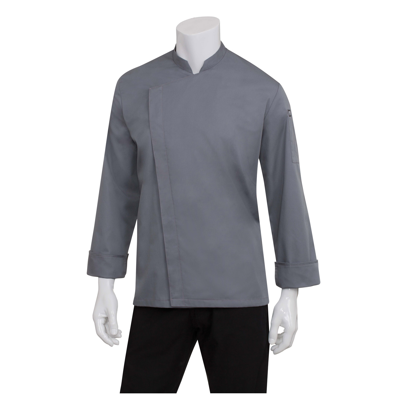 Chef Works BCMC010GRY2XL chef's coat