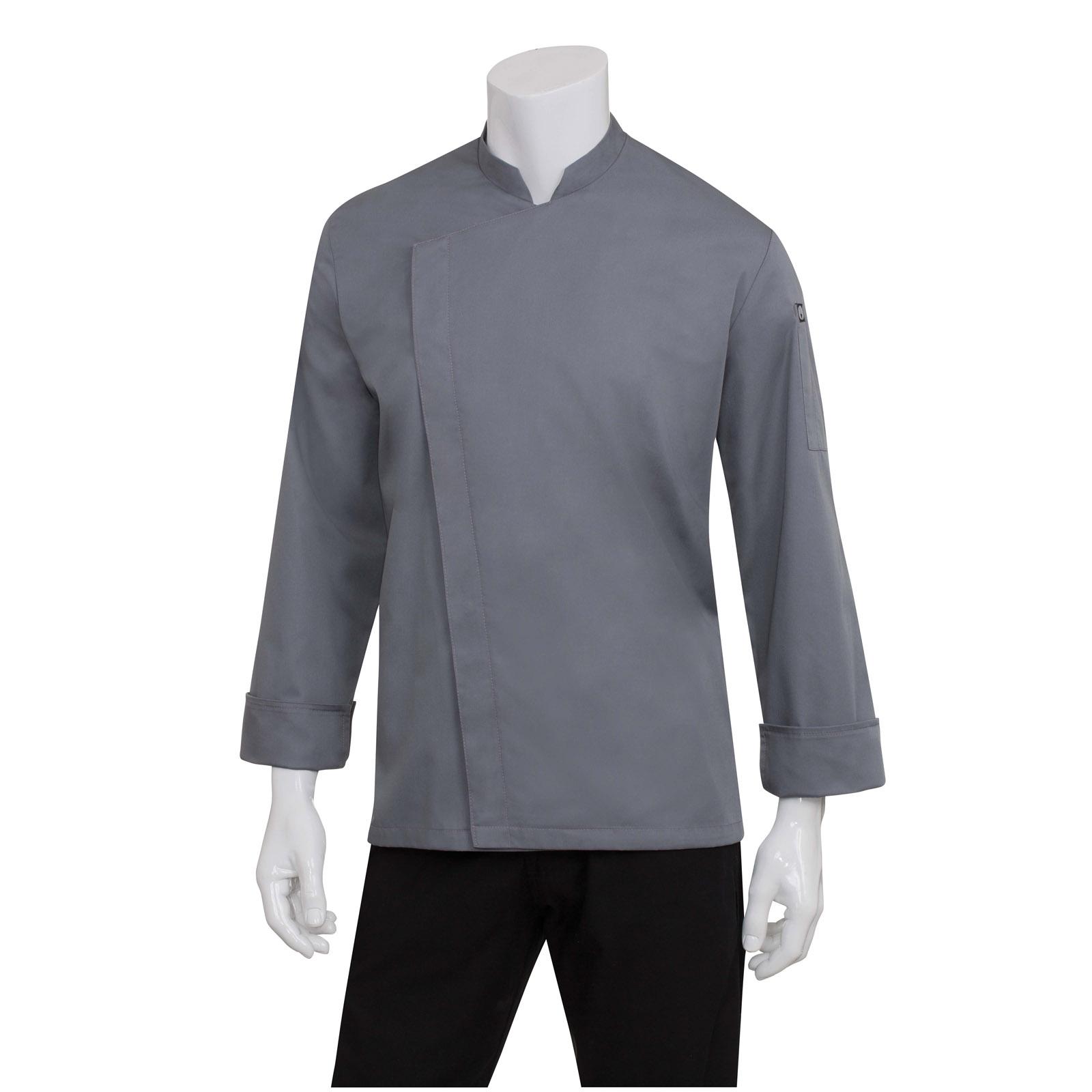 Chef Works BCMC010GRYL chef's coat