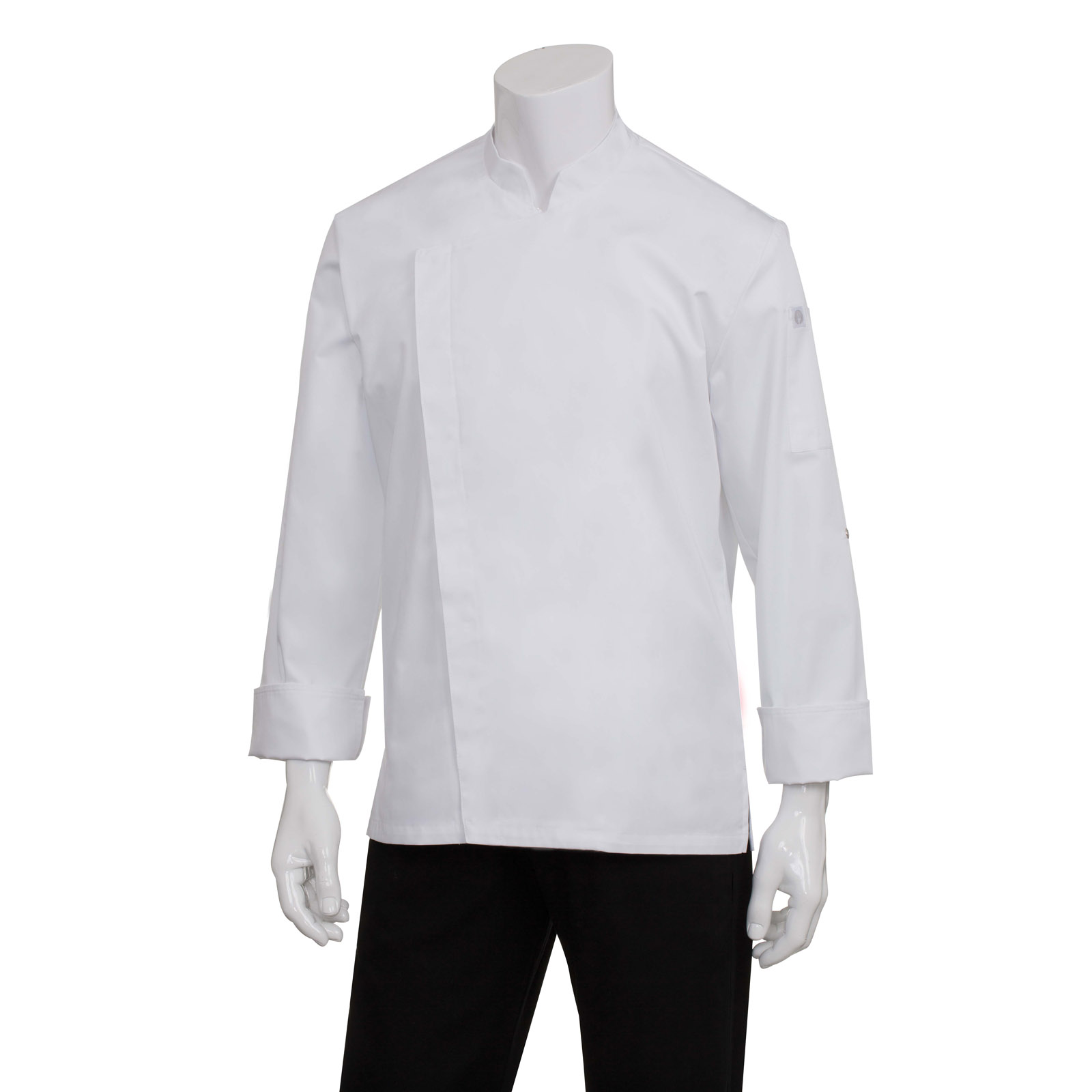 Chef Works BCMC010WHTM chef's coat