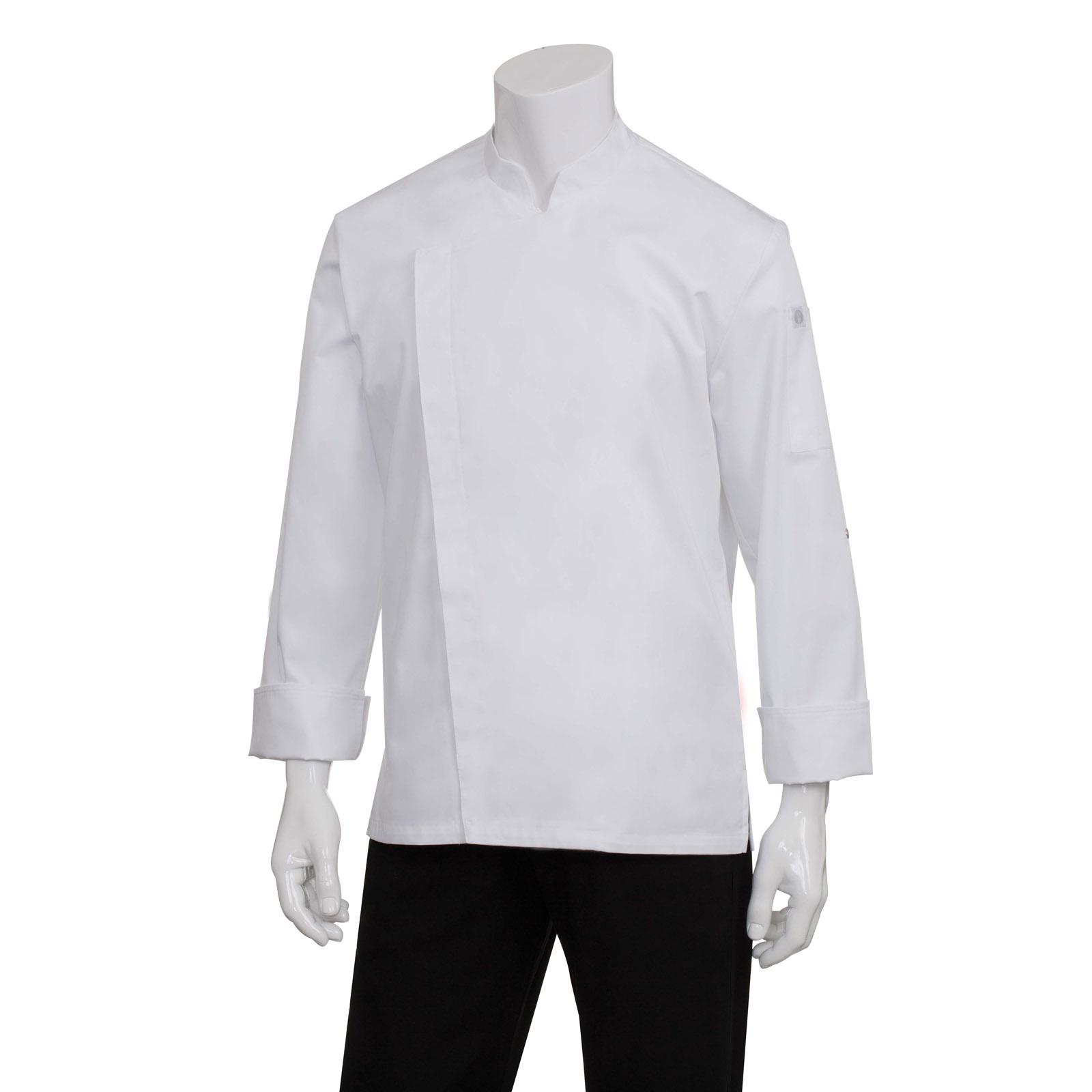 Chef Works BCMC010WHTXS chef's coat