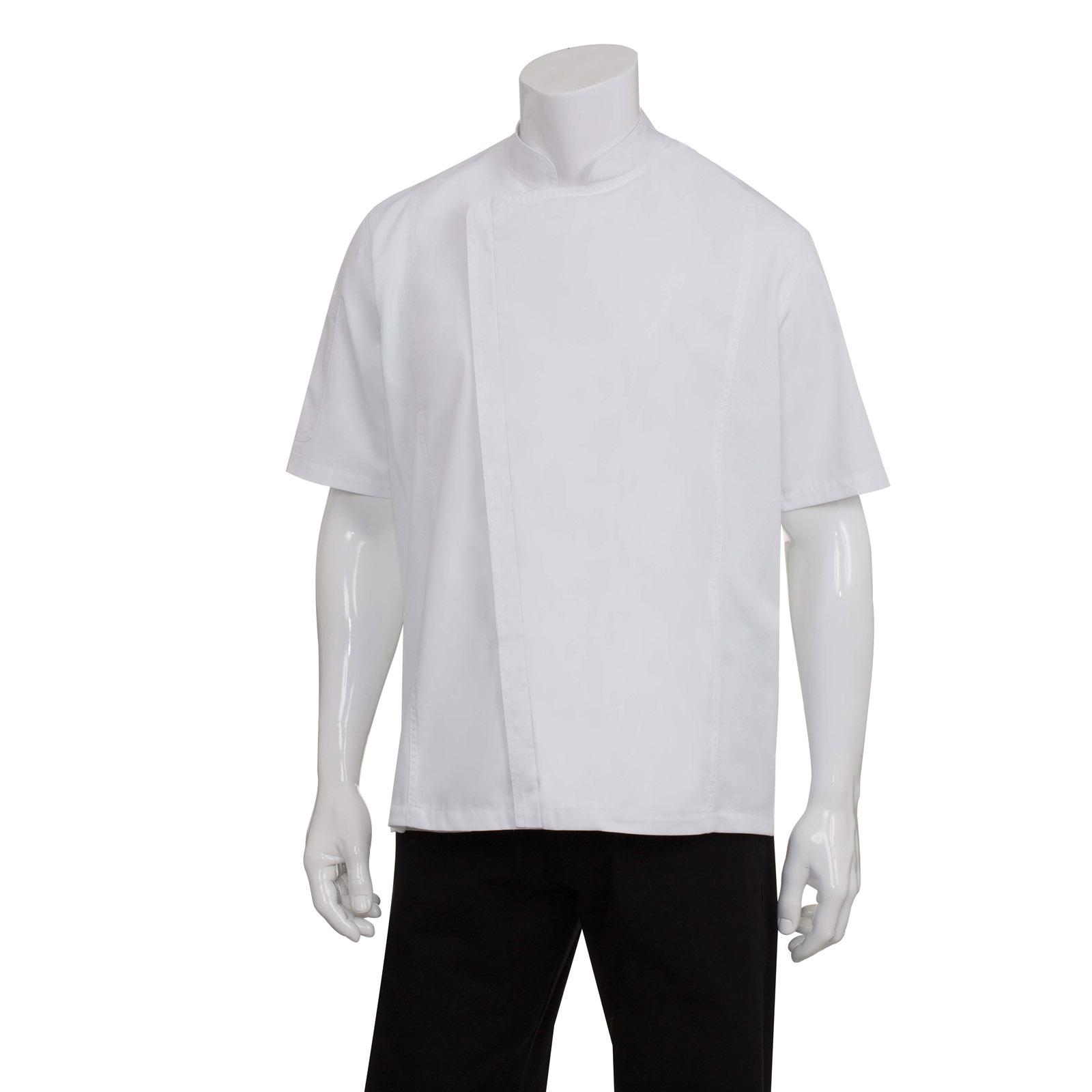 Chef Works BCSZ009WHT4XL chef's coat