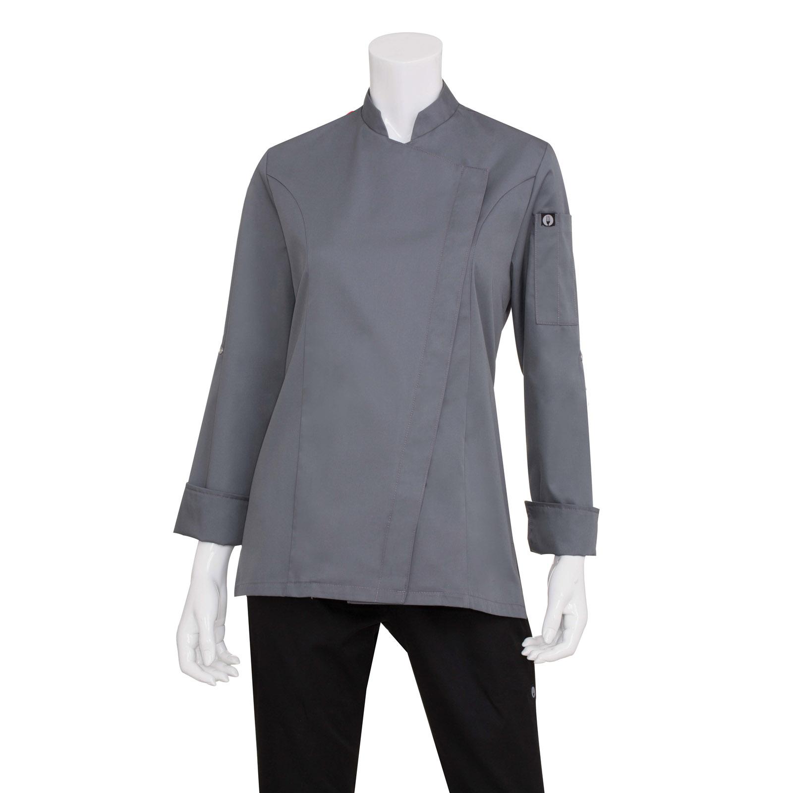 Chef Works BCWMC007GRYL chef's coat