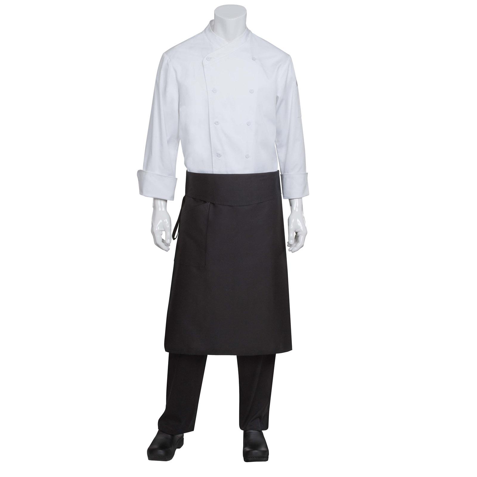 Chef Works BPTABLK0 waist apron