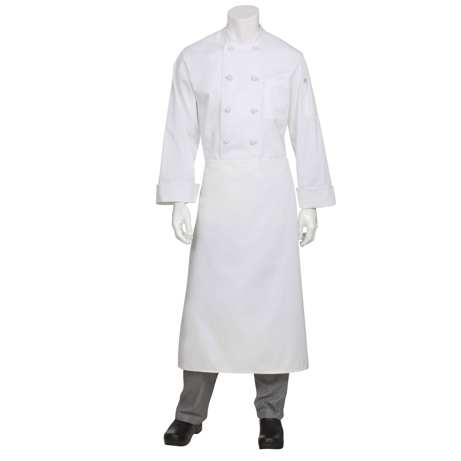 Chef Works CFLAWHT0 waist apron