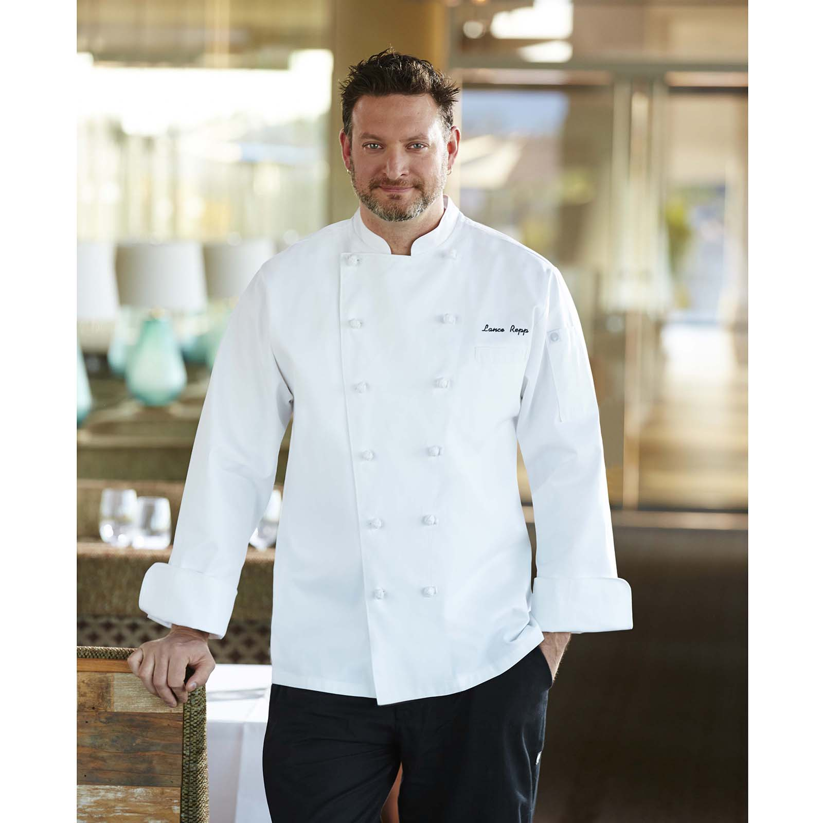 Chef Works CKCCWHT60 chef's coat