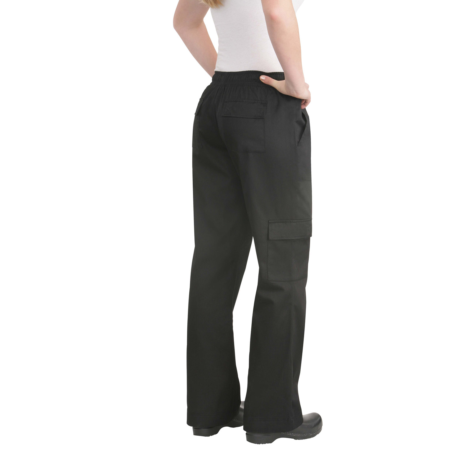 Chef Works CPWOBLK2XL chef's pants