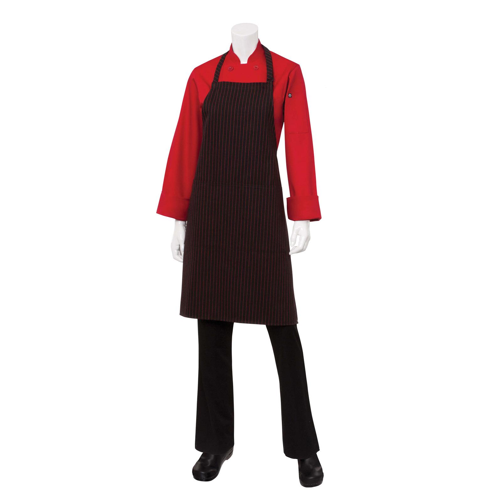 Chef Works CSAABWP0 bib apron