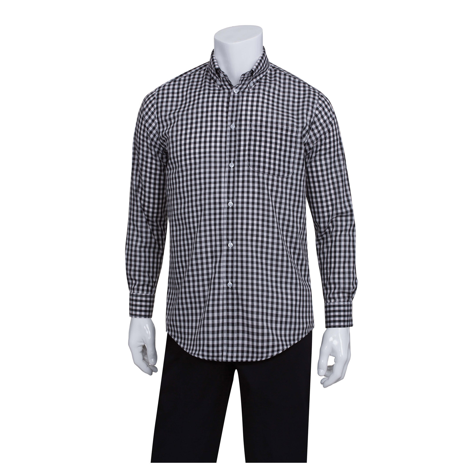 Chef Works D500BWK4XL dress shirt