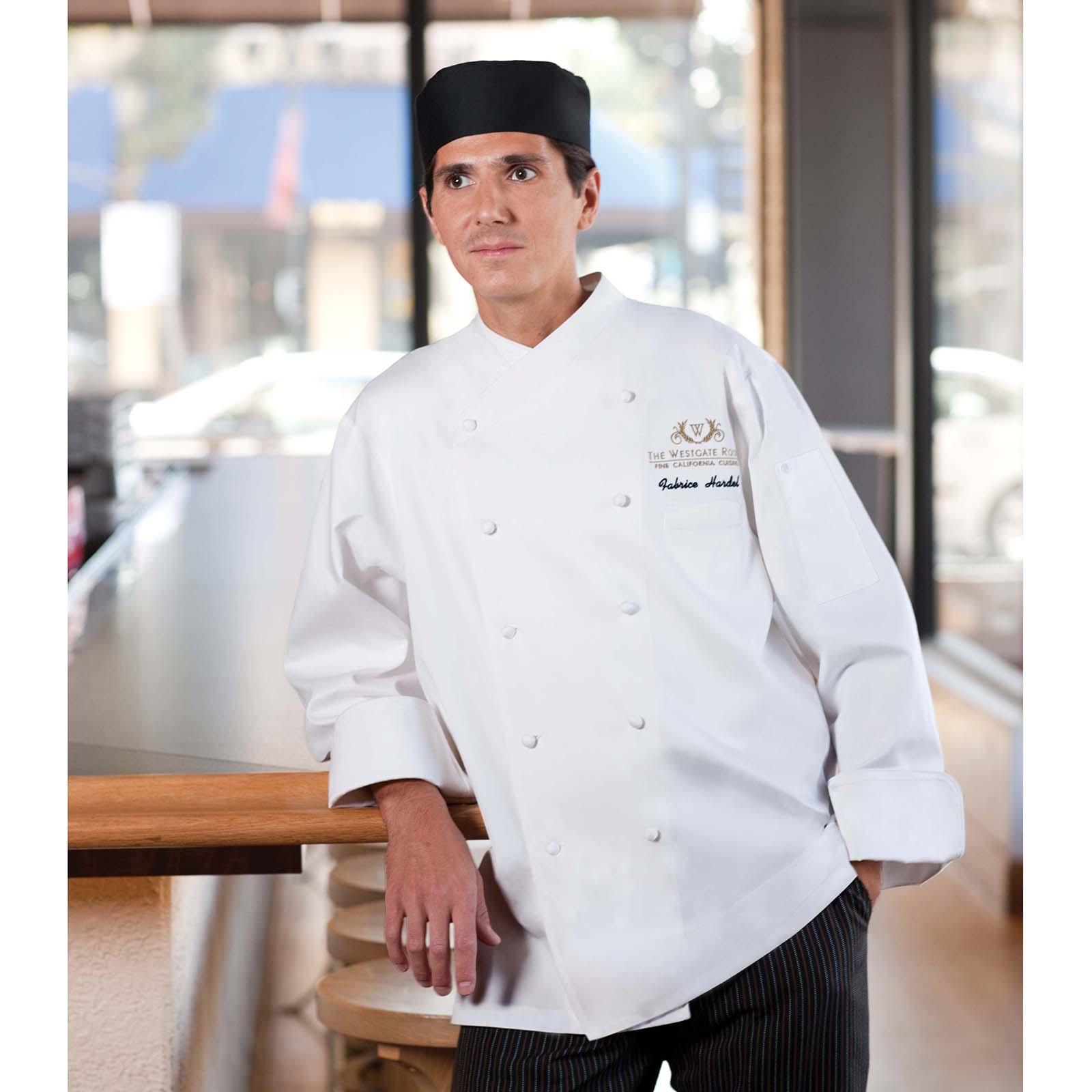 Chef Works ECCWWHT56 chef's coat