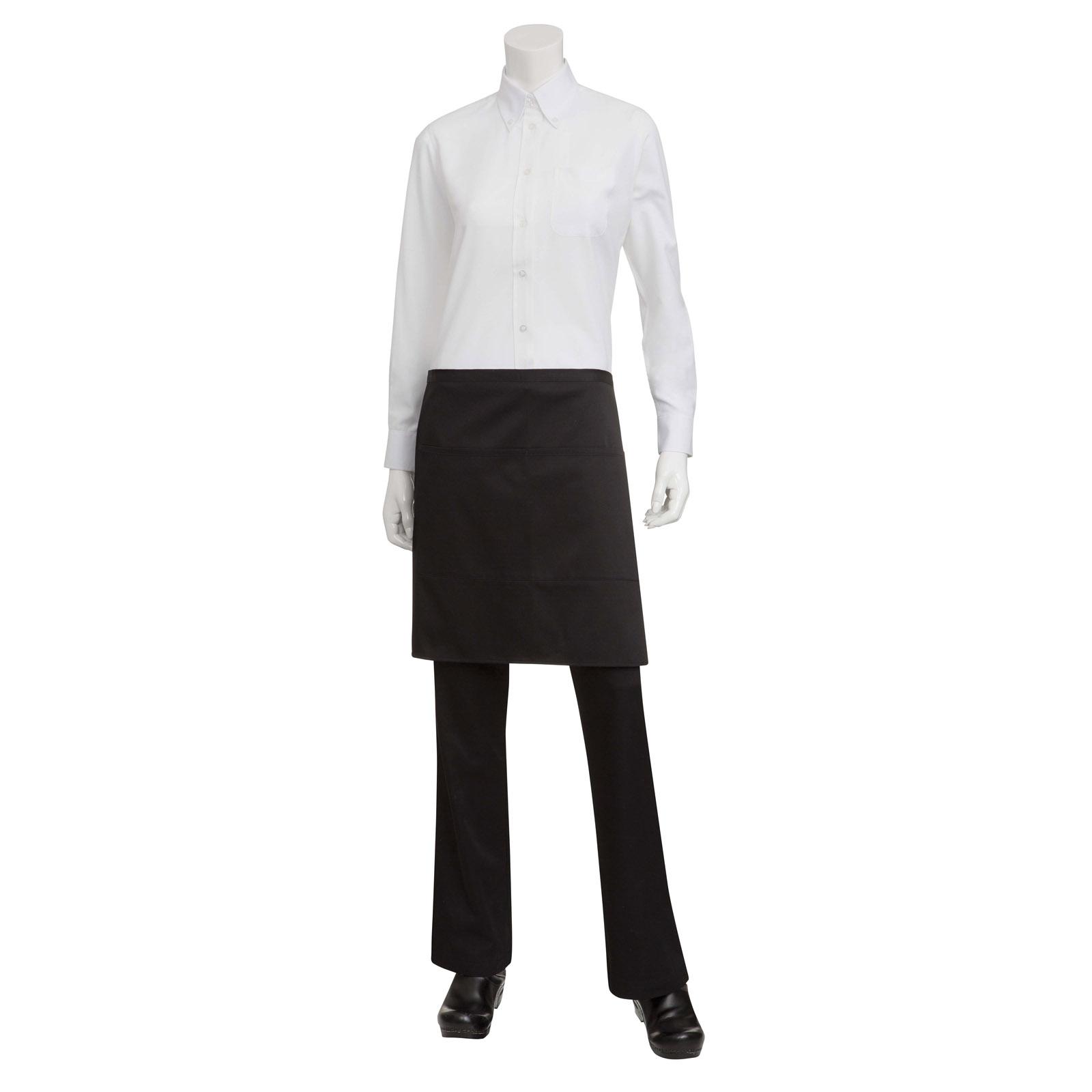 Chef Works F28 BLK0 waist apron