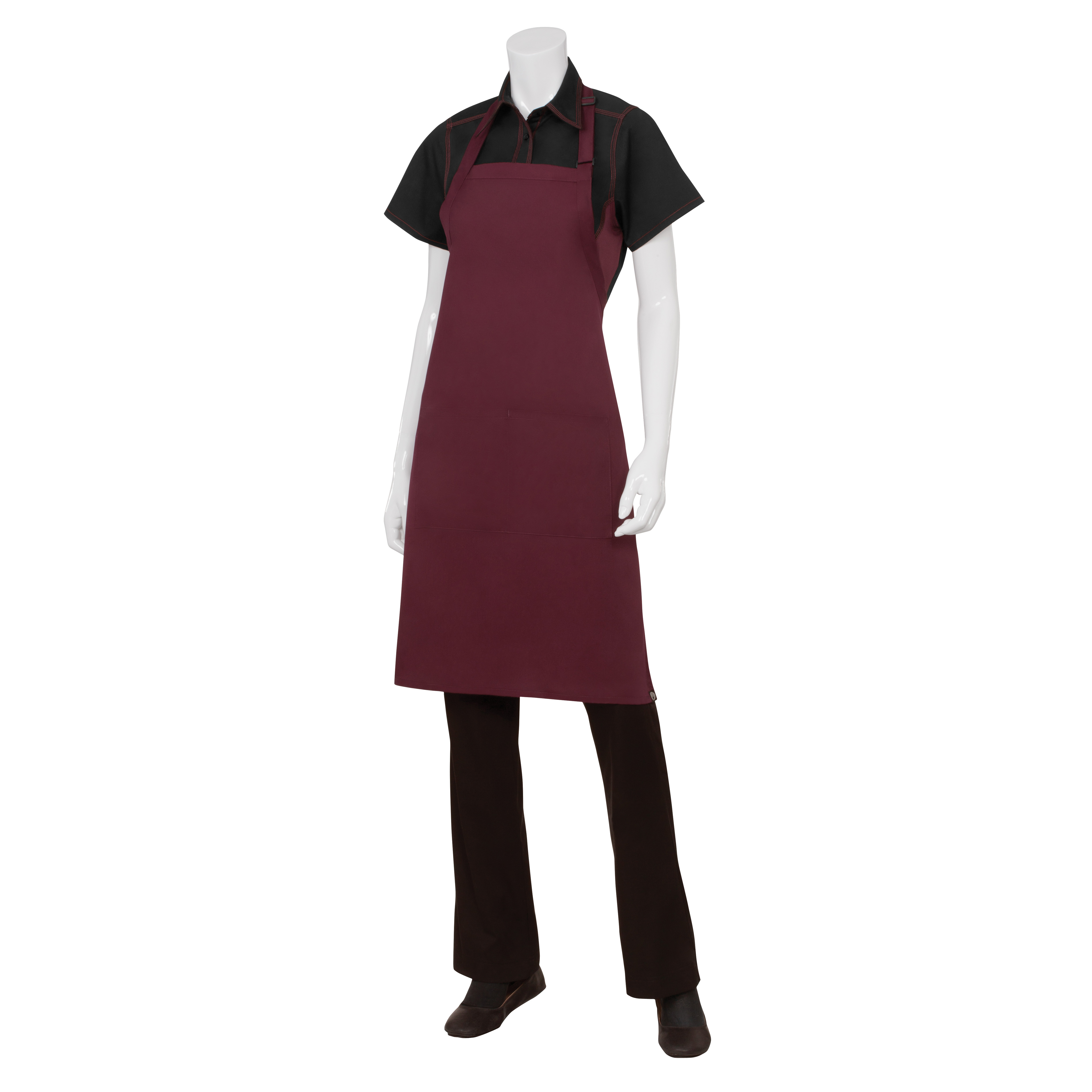 Chef Works F8 MER0 bib apron