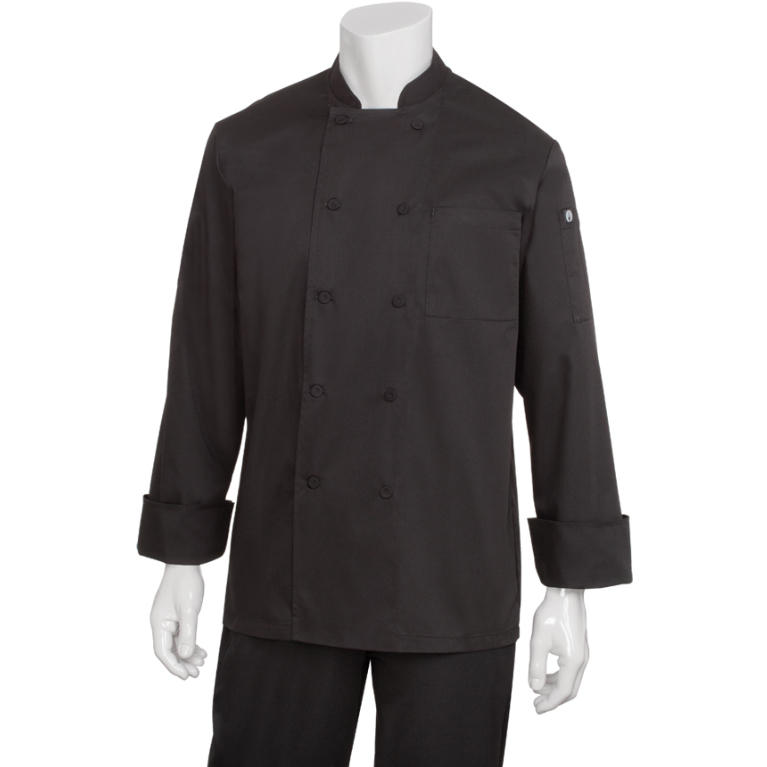 Chef Works JLLSBLK5XL chef's coat