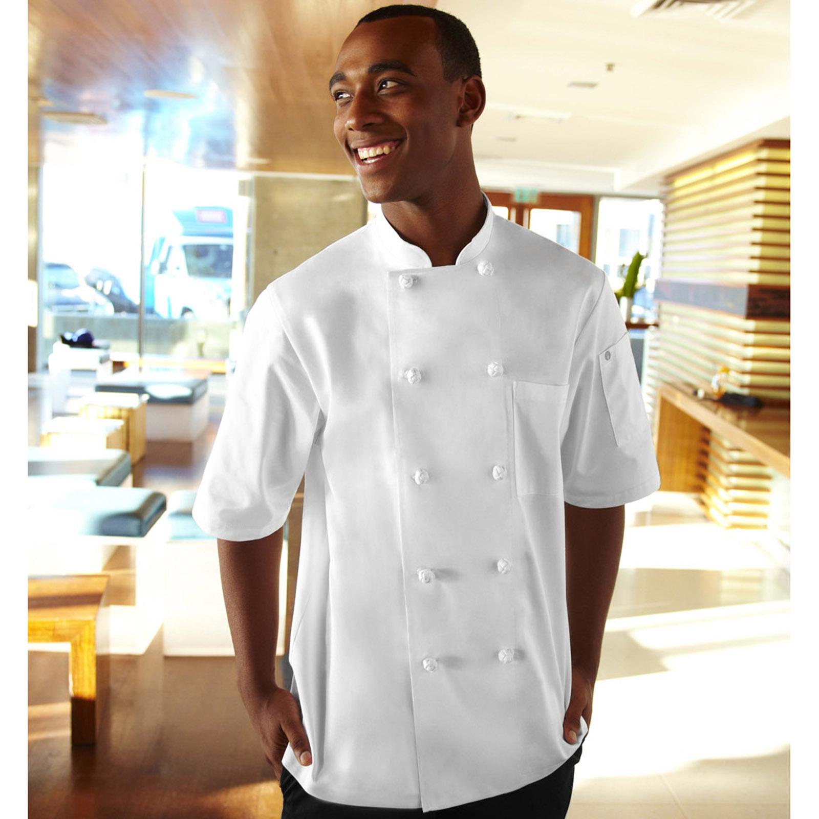 Chef Works KNSSWHT2XL chef's coat