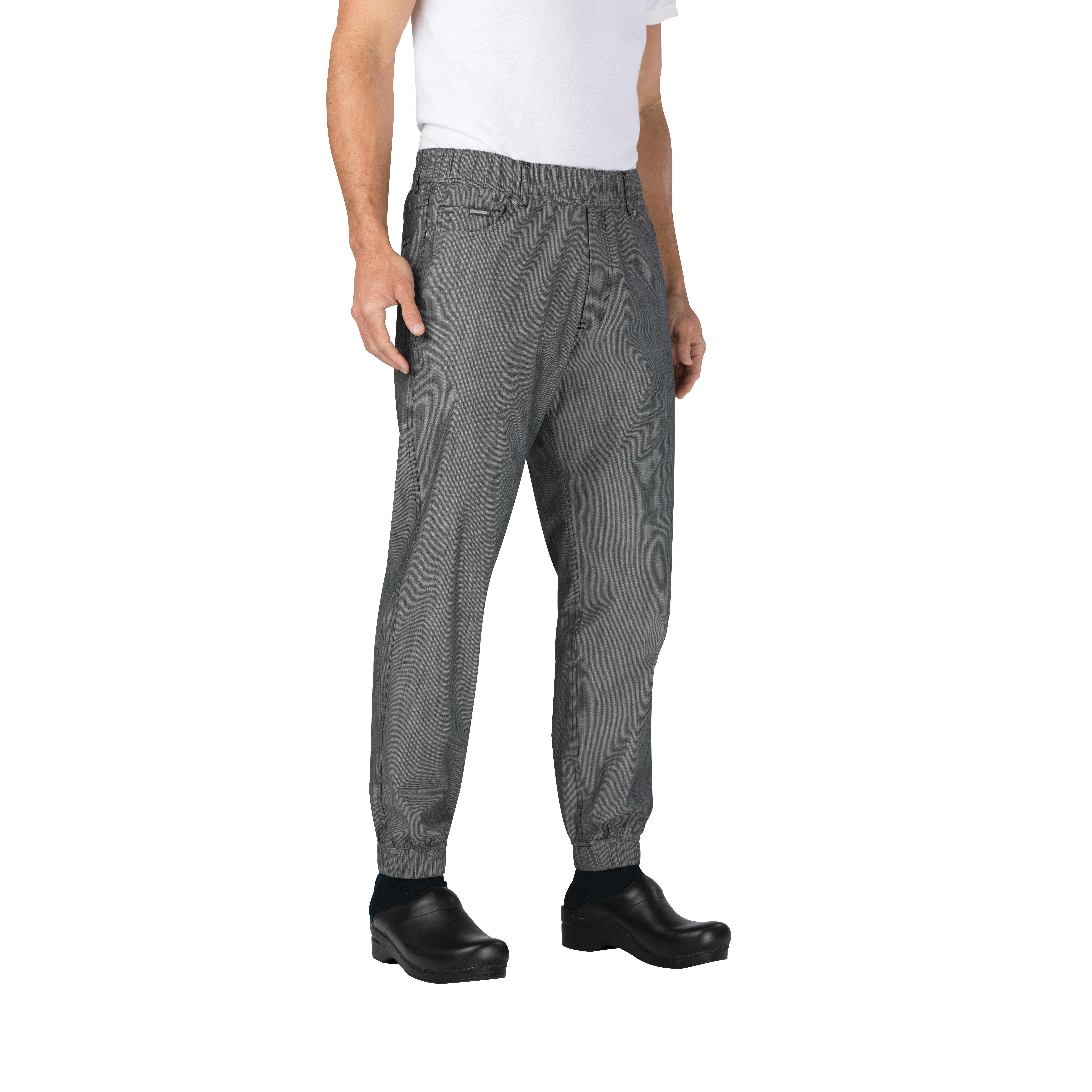 Chef Works PBE01BWS3XL chef's pants