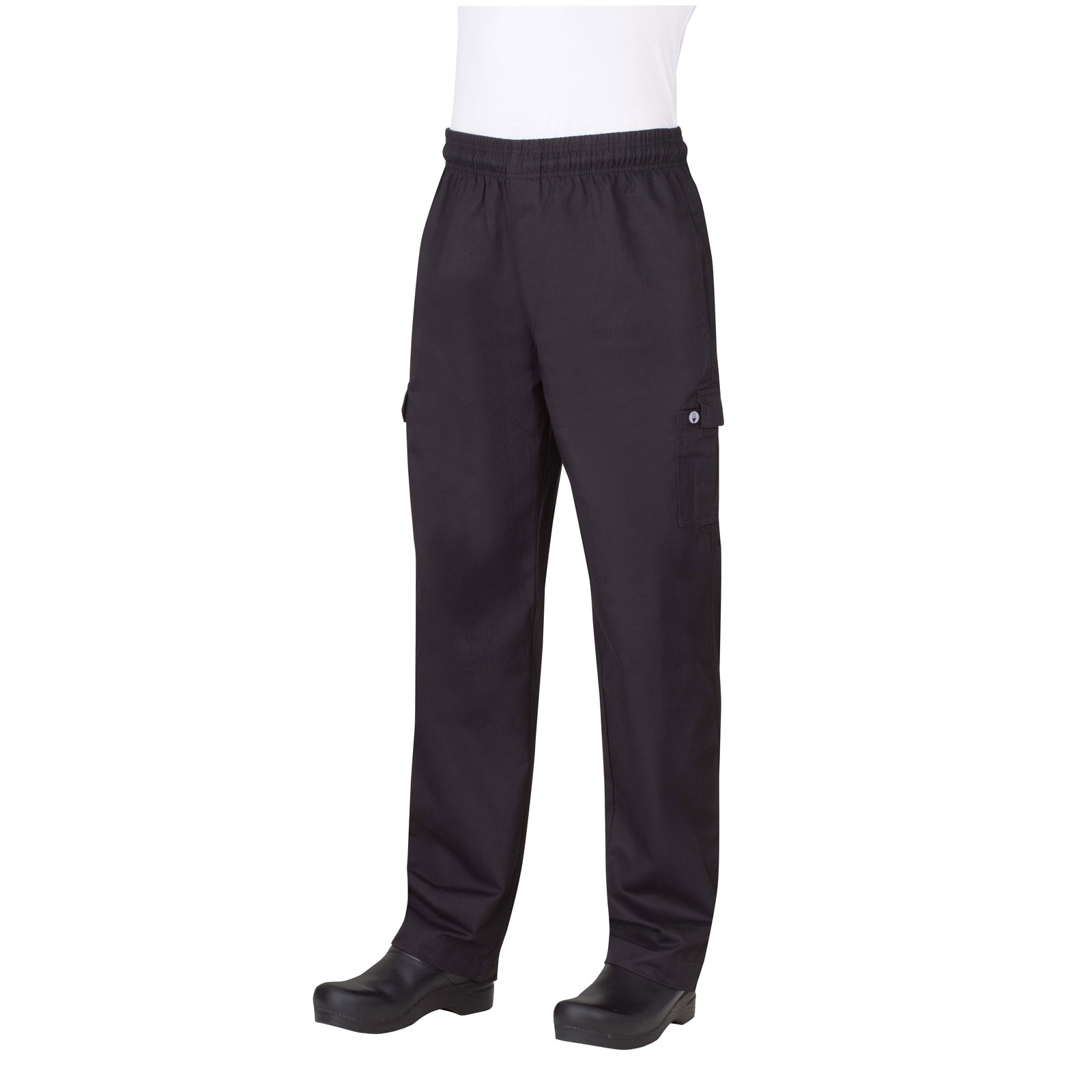 Chef Works PC001BLK4XL chef's pants
