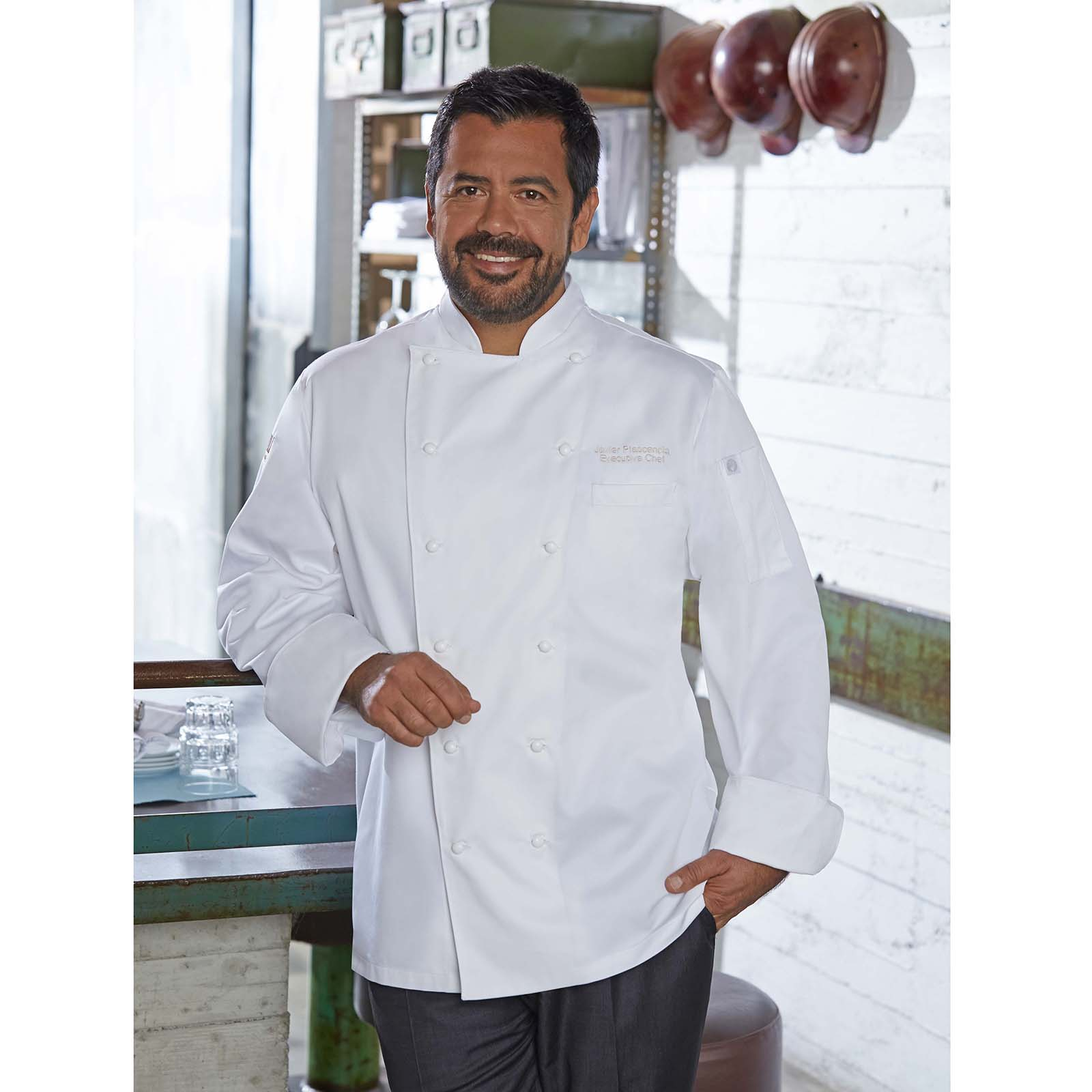 Chef Works SE52WHTXL chef's coat