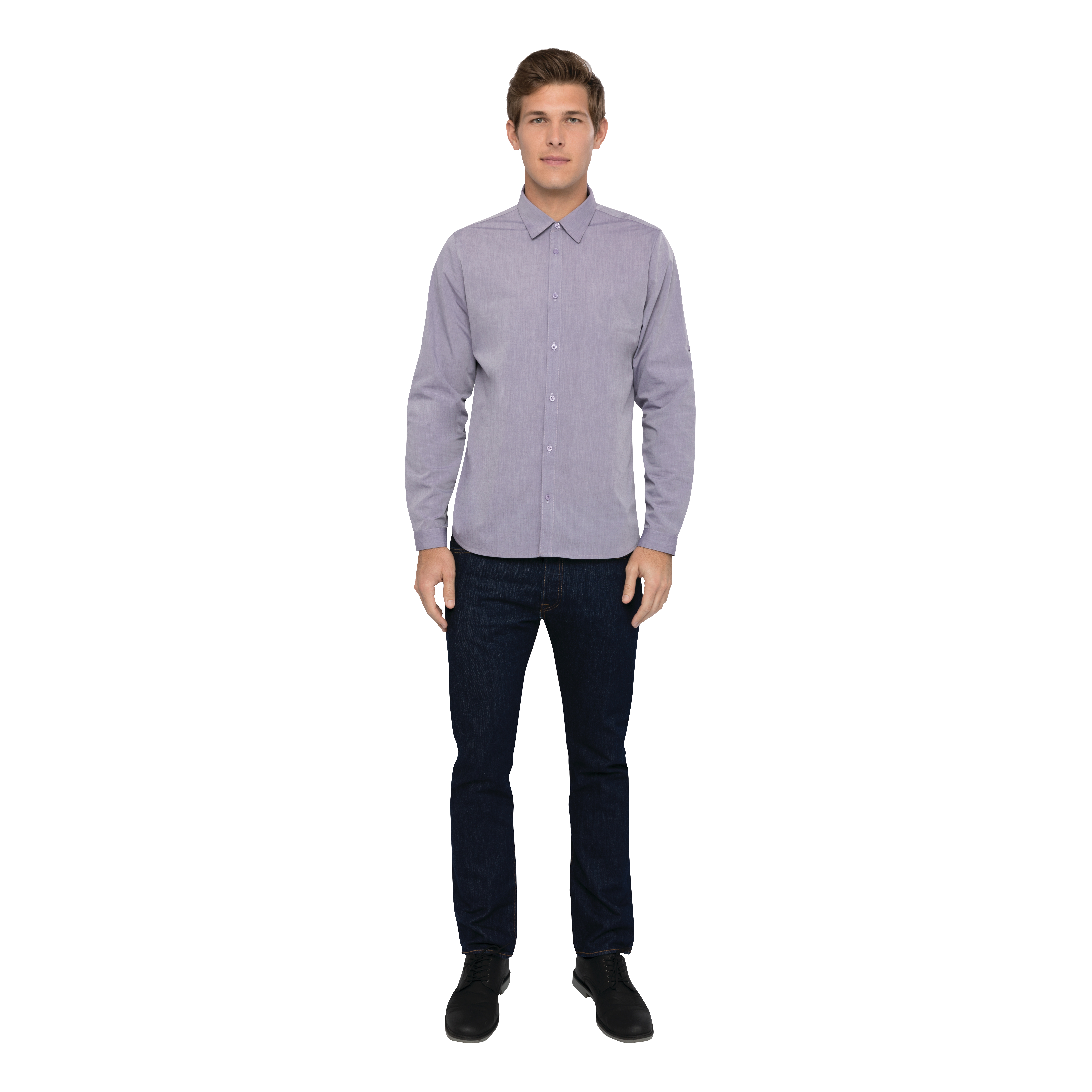 Chef Works SHC06PURL cook's shirt