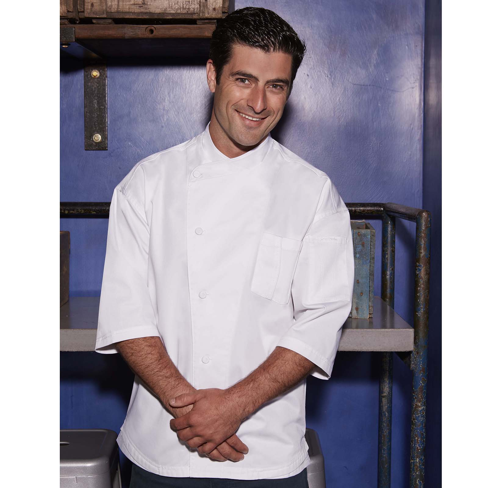 Chef Works SI34WWT2XL chef's coat