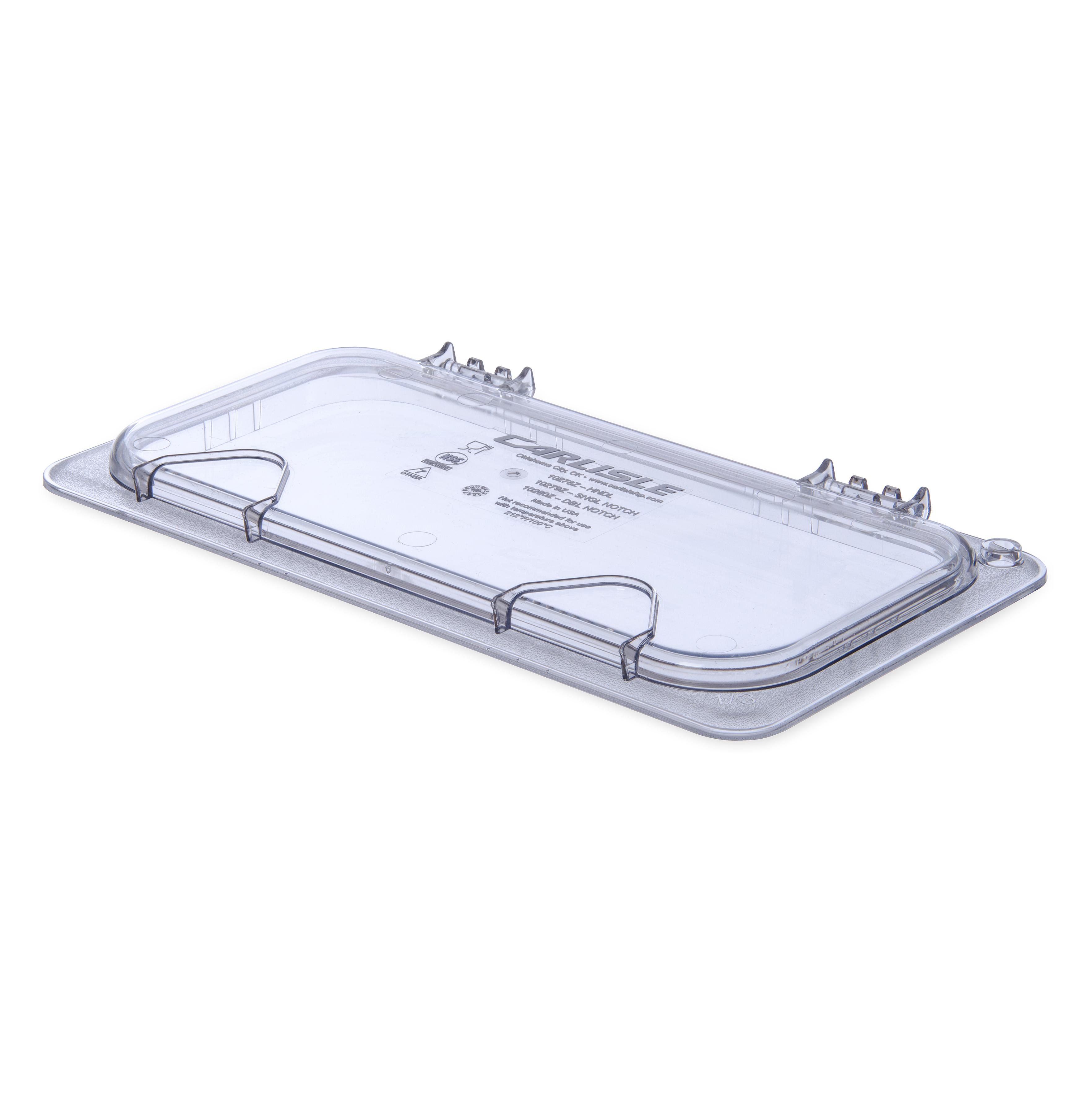 Carlisle 10278Z07 food pan cover, plastic