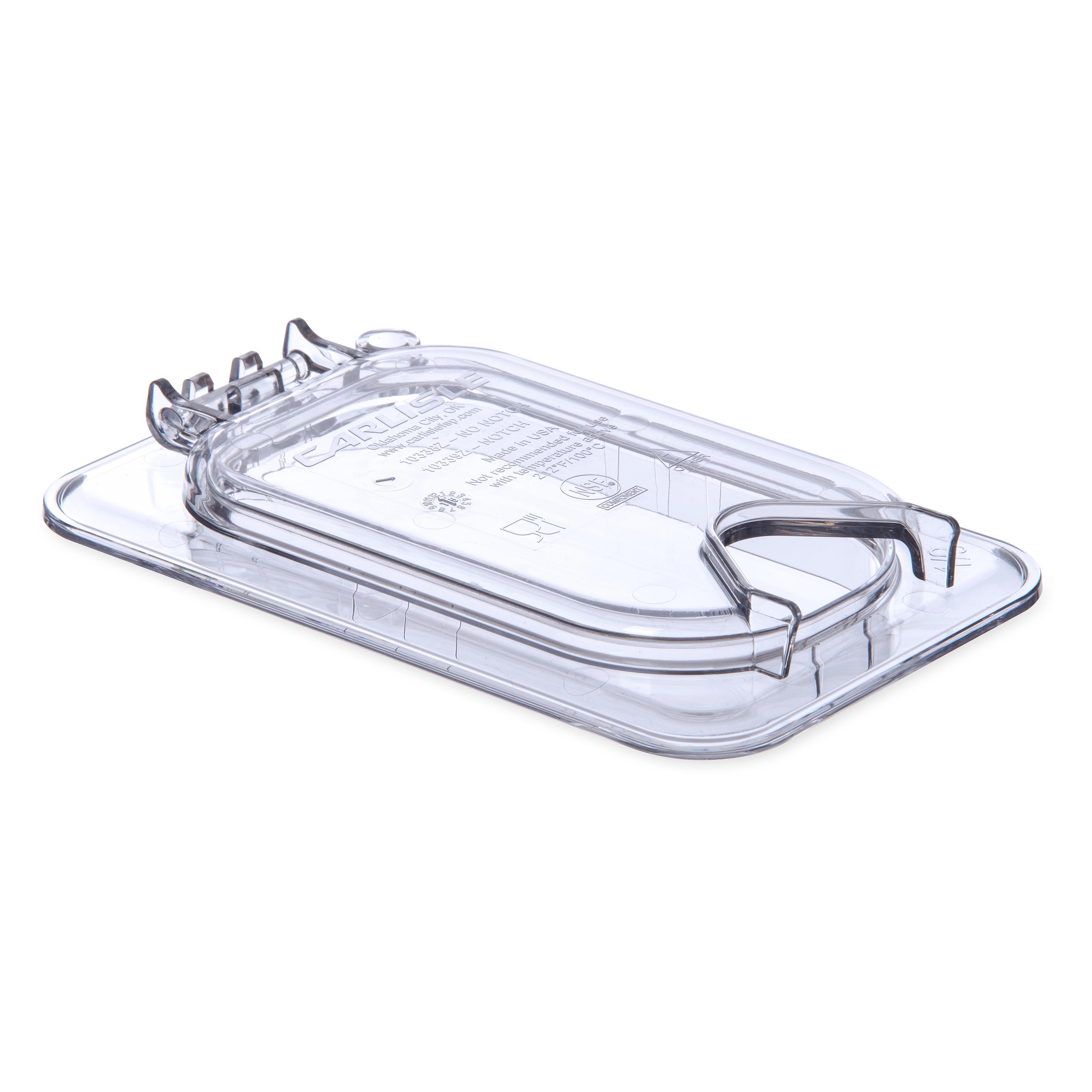 Carlisle 10339Z07 food pan cover, plastic