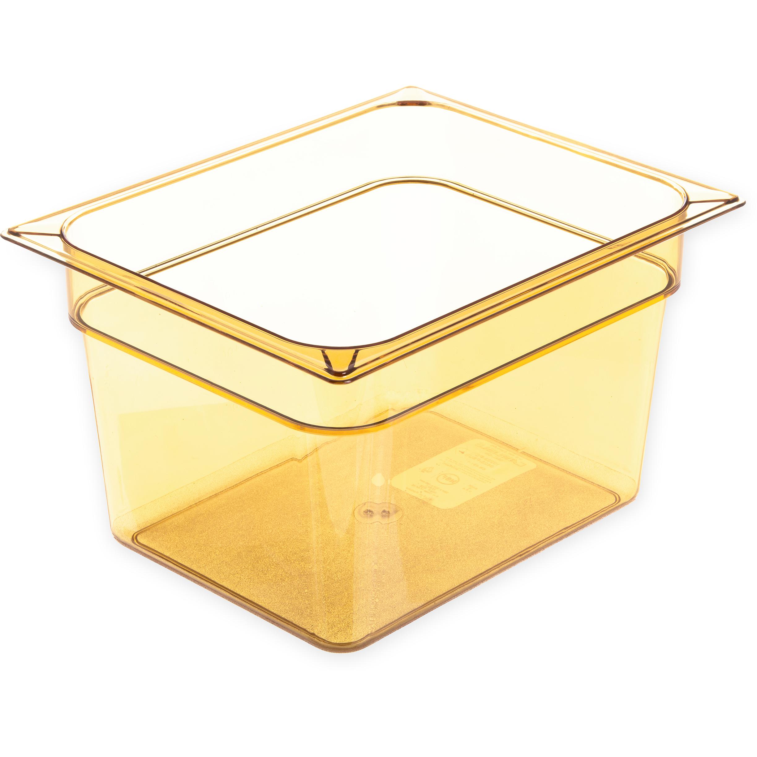 Carlisle 10423B13 food pan, hi-temp plastic