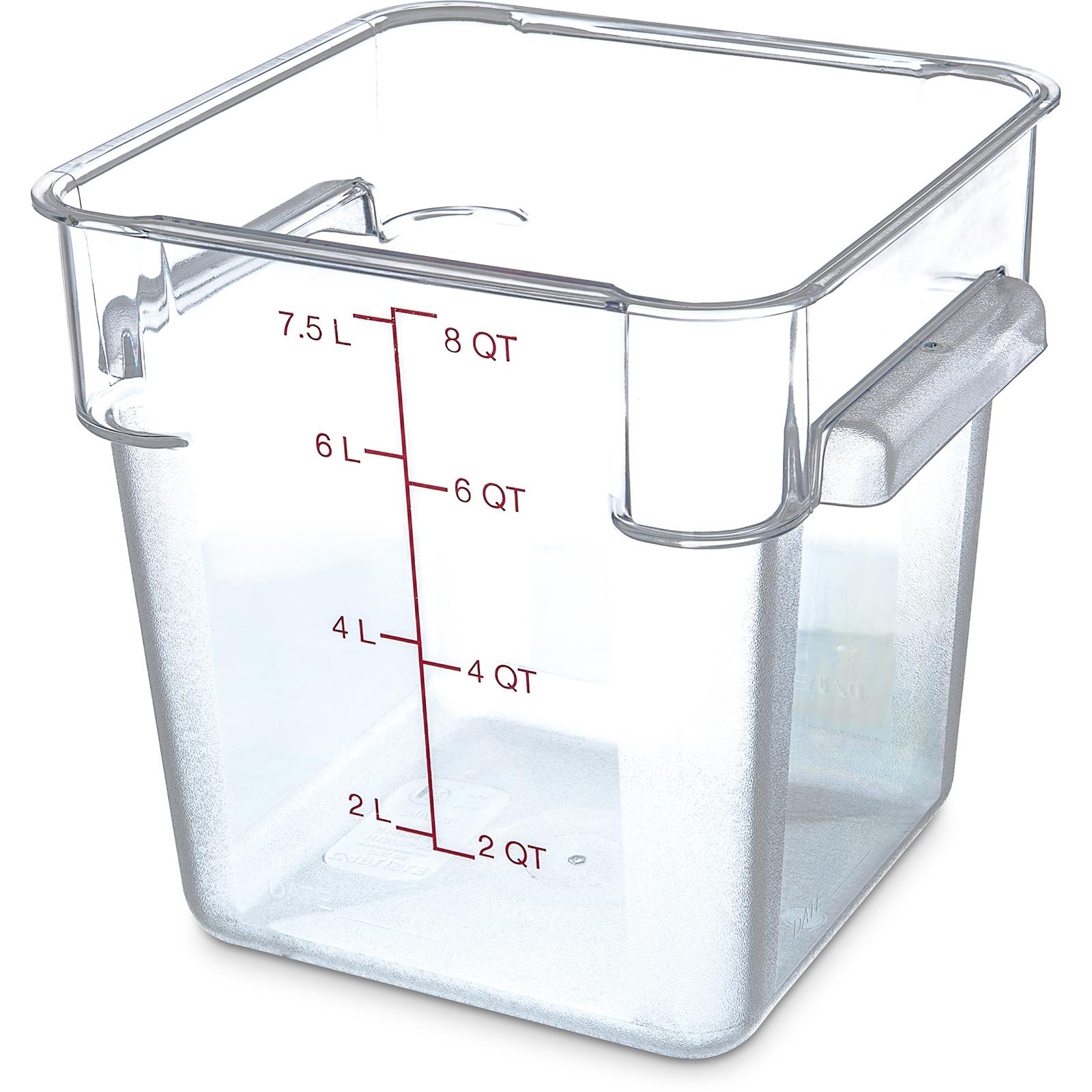 Carlisle 1072307 StorPlus™ Food Storage Container